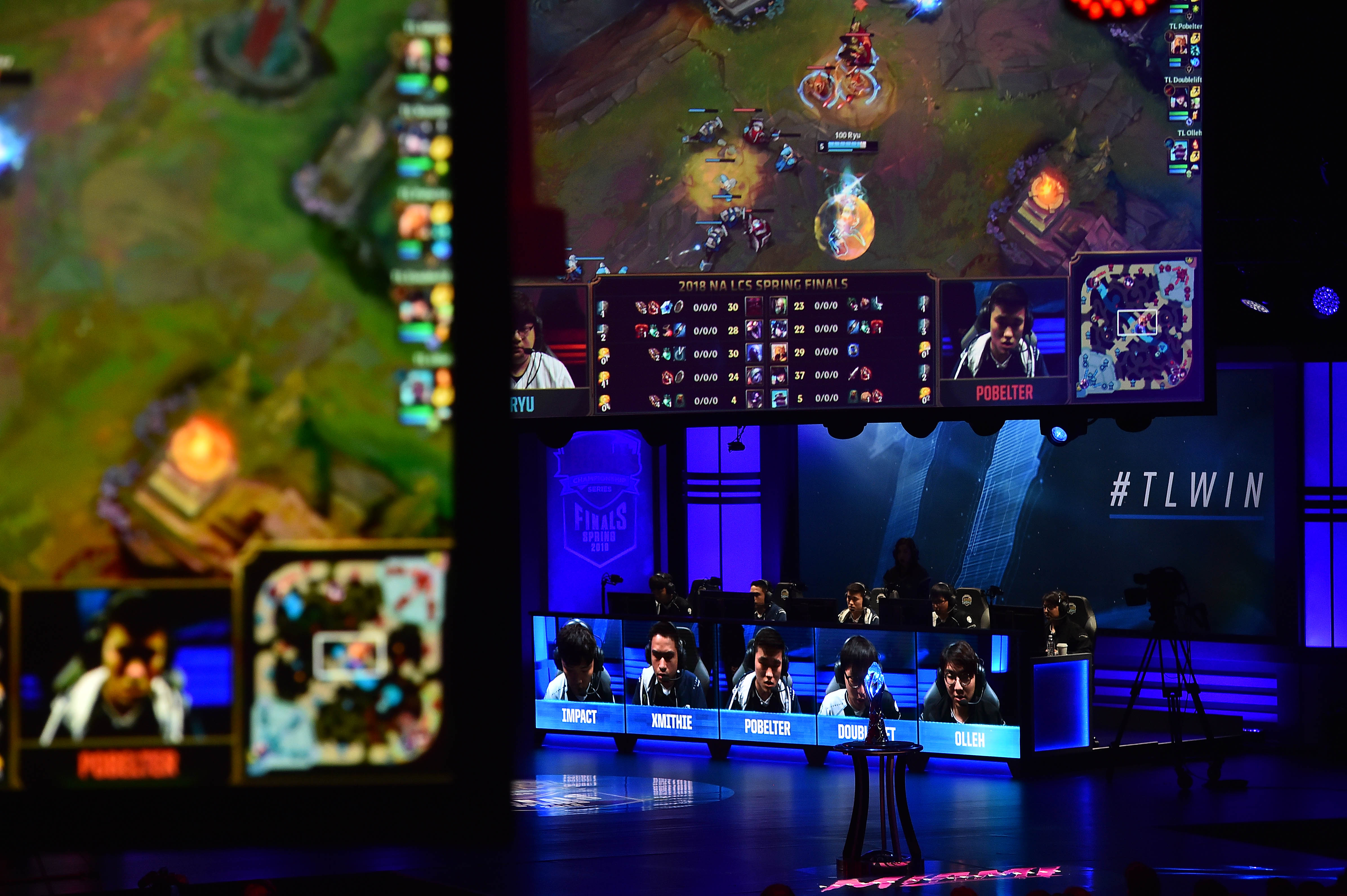 E-gaming: League of Legends 2018 North America Spring Finals