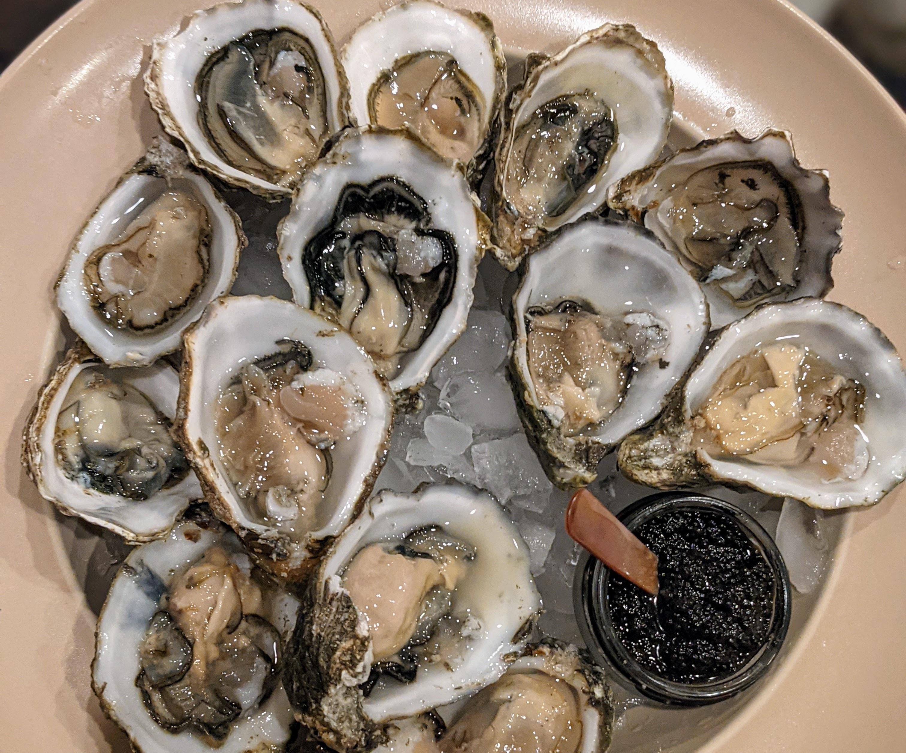 For extra fresh Pacific oysters you can shuck at home: Jolly Oysterette.