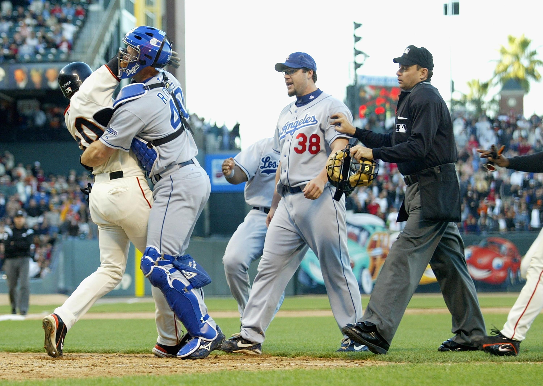 Dodgers v Giants