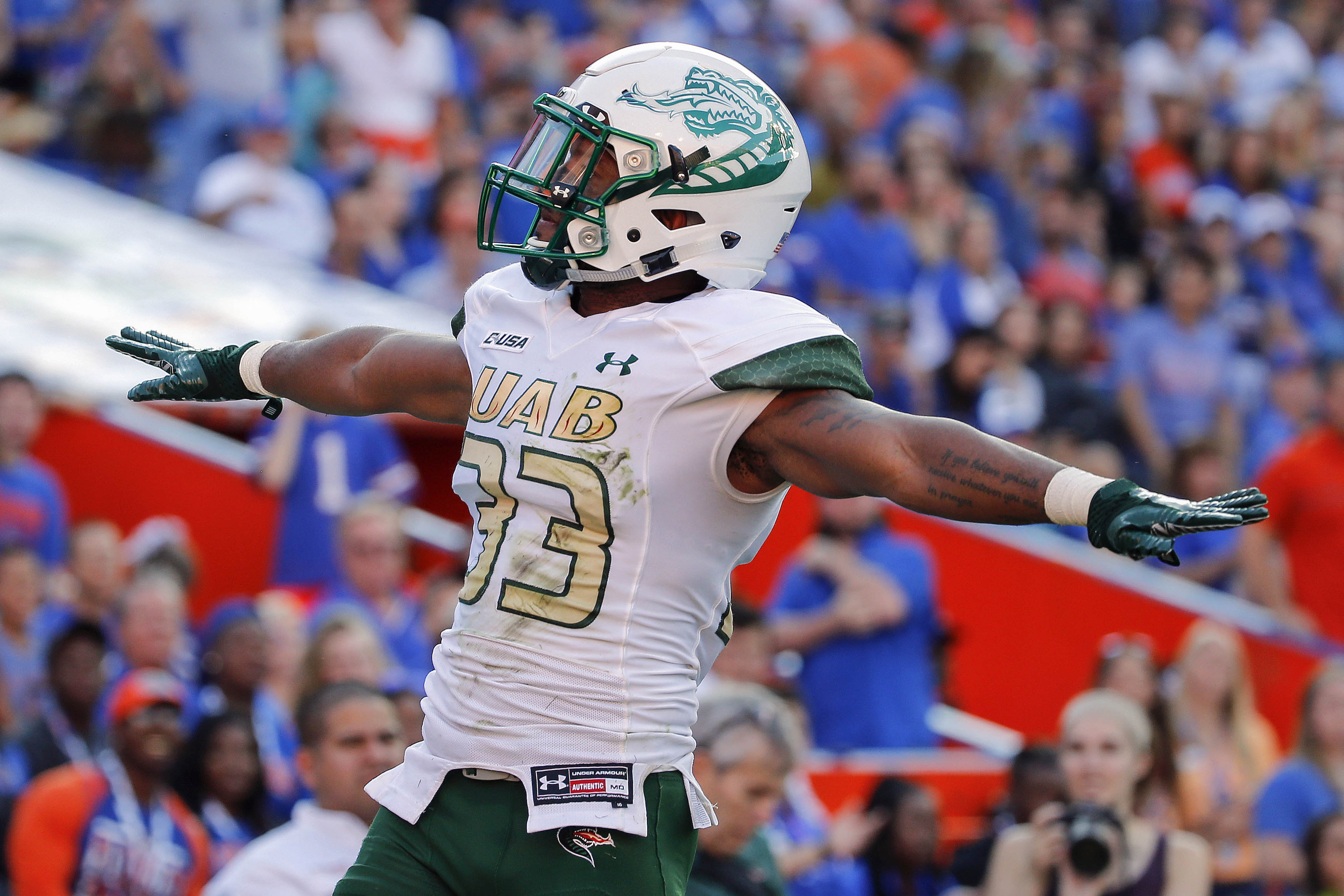 NCAA Football: Alabama-Birmingham at Florida