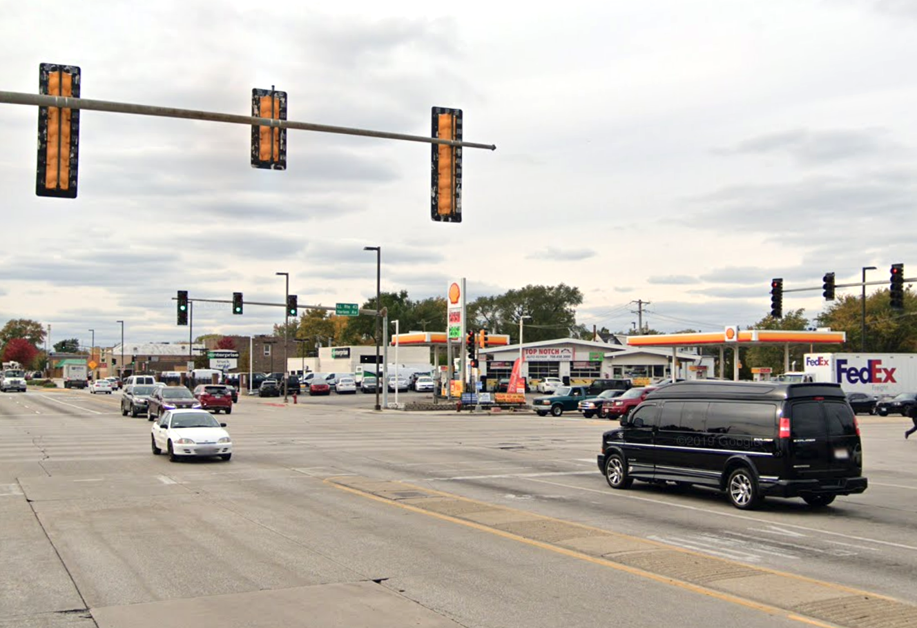 A man riding a motorcycle died after crashing July 13, 2020, in the 6300 block of South Harlem Avenue.