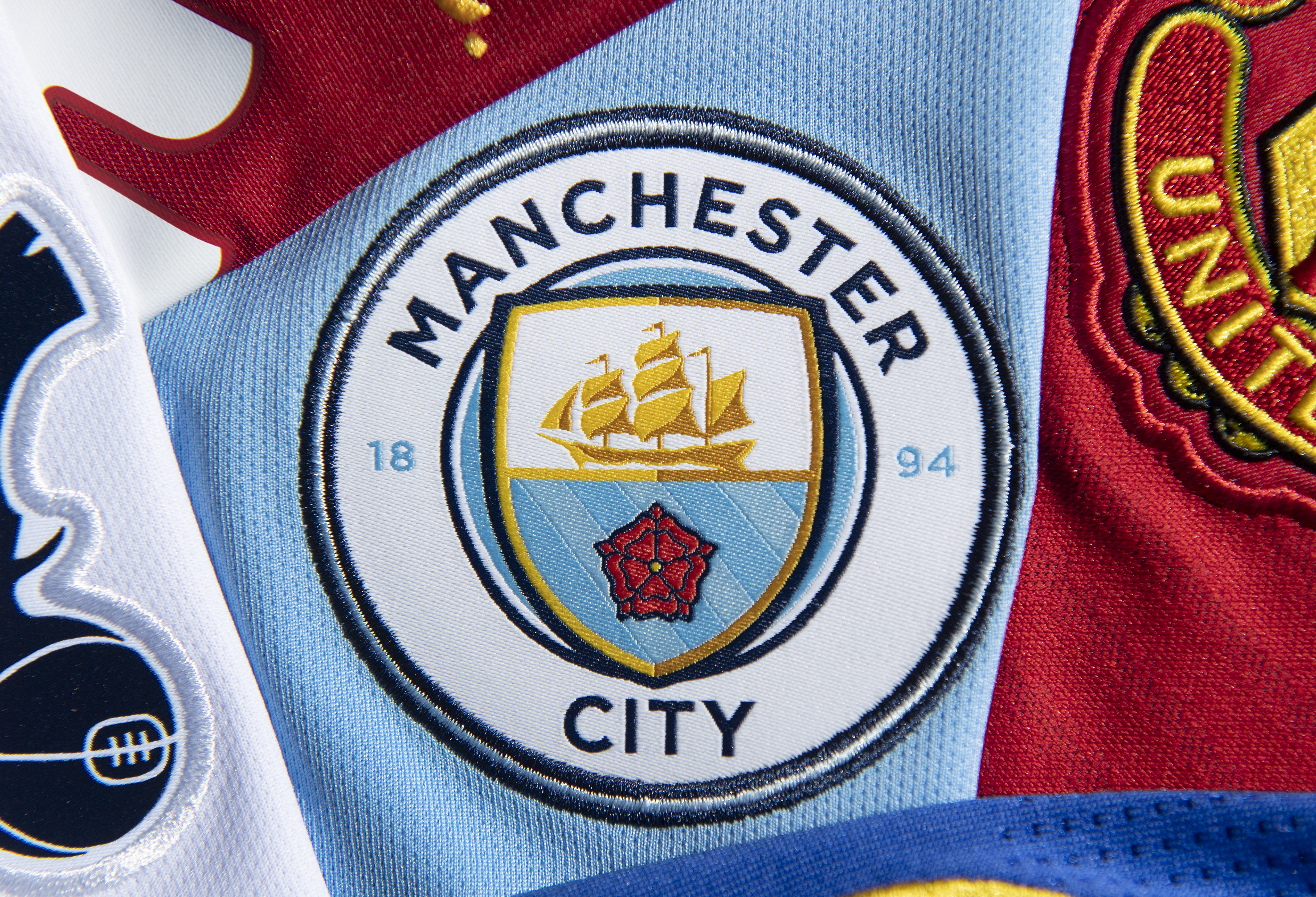 The Manchester City Club Badge