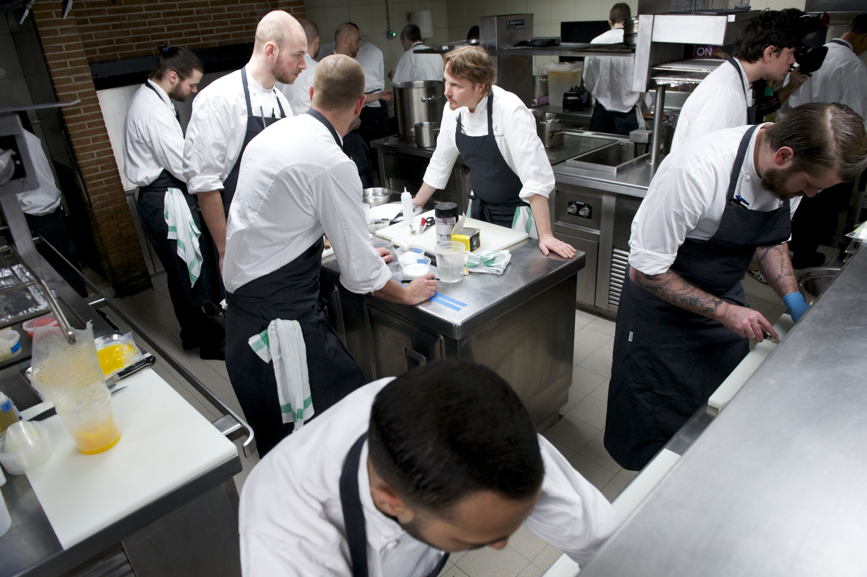 Chef Grant Achatz Presents 'Alinea Madrid' Restaurant