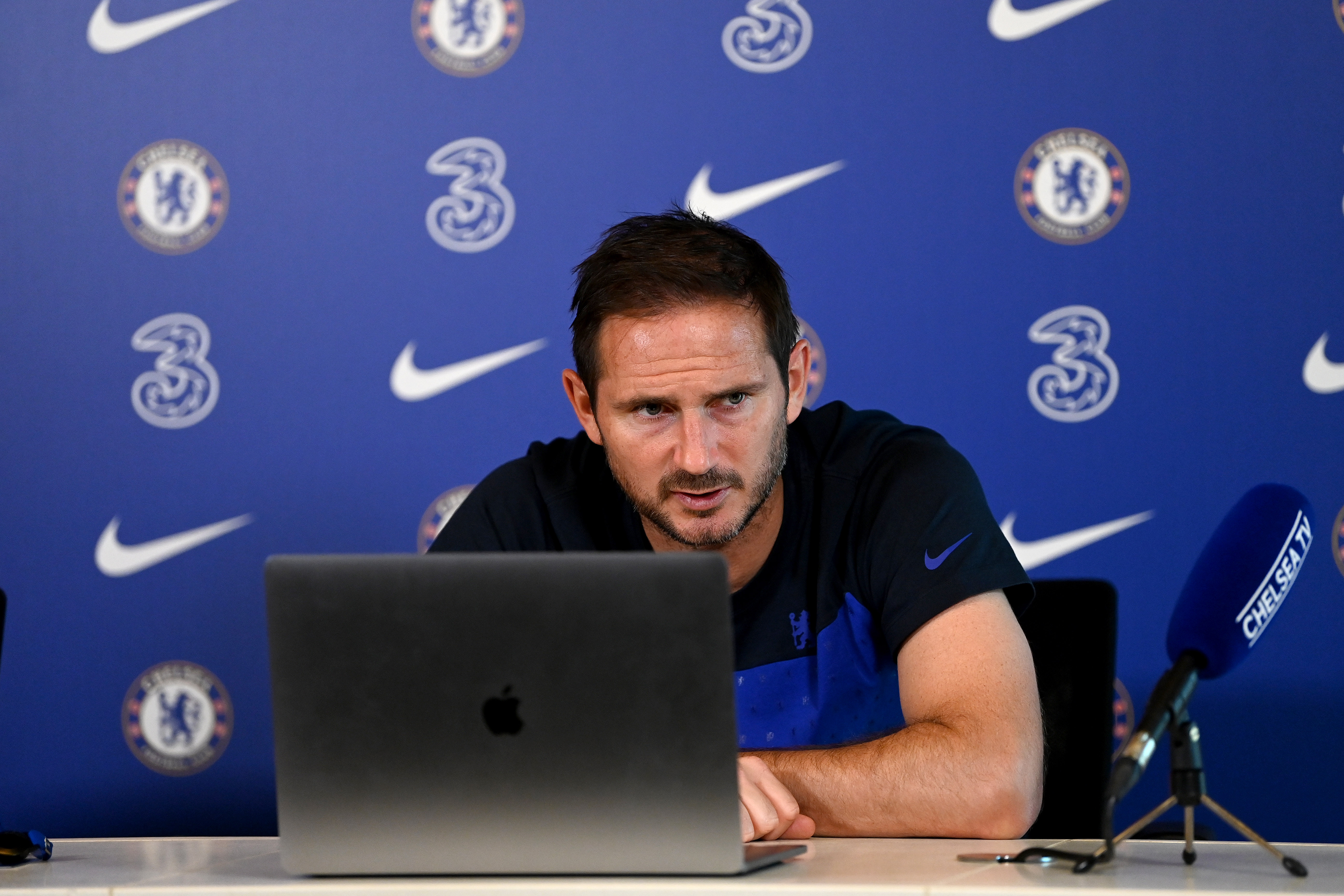 Chelsea Training and Virtual Press Conference