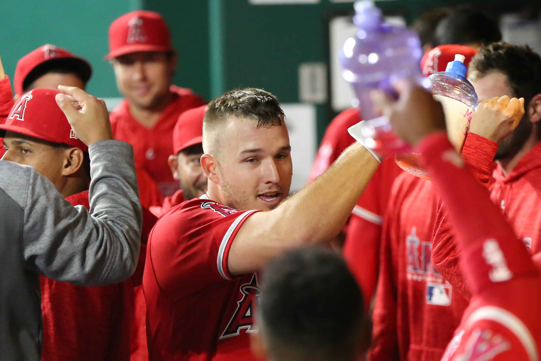 MLB: APR 12 Angels at Royals