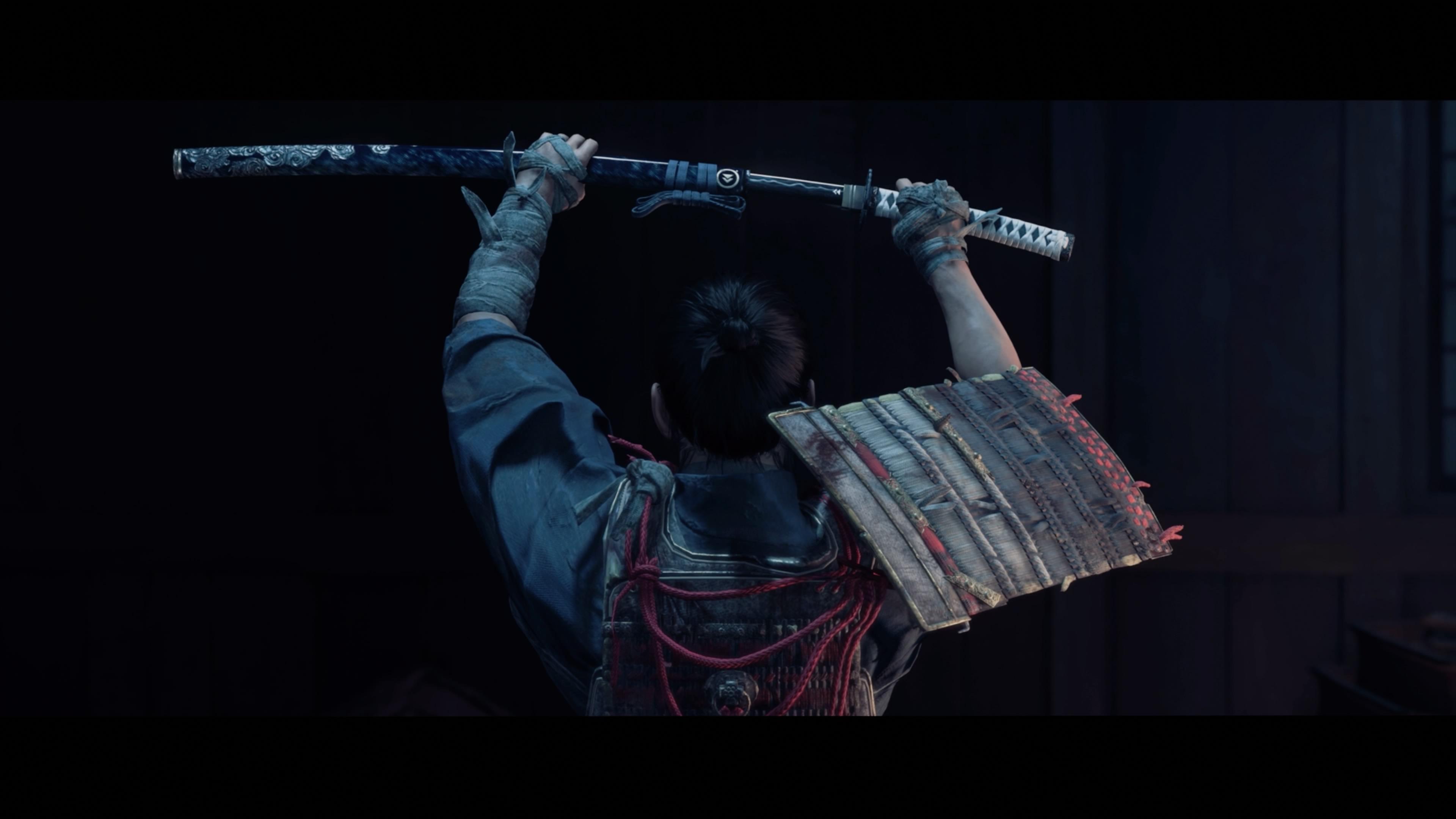 Ghost of Tsushima's main character draws his sword