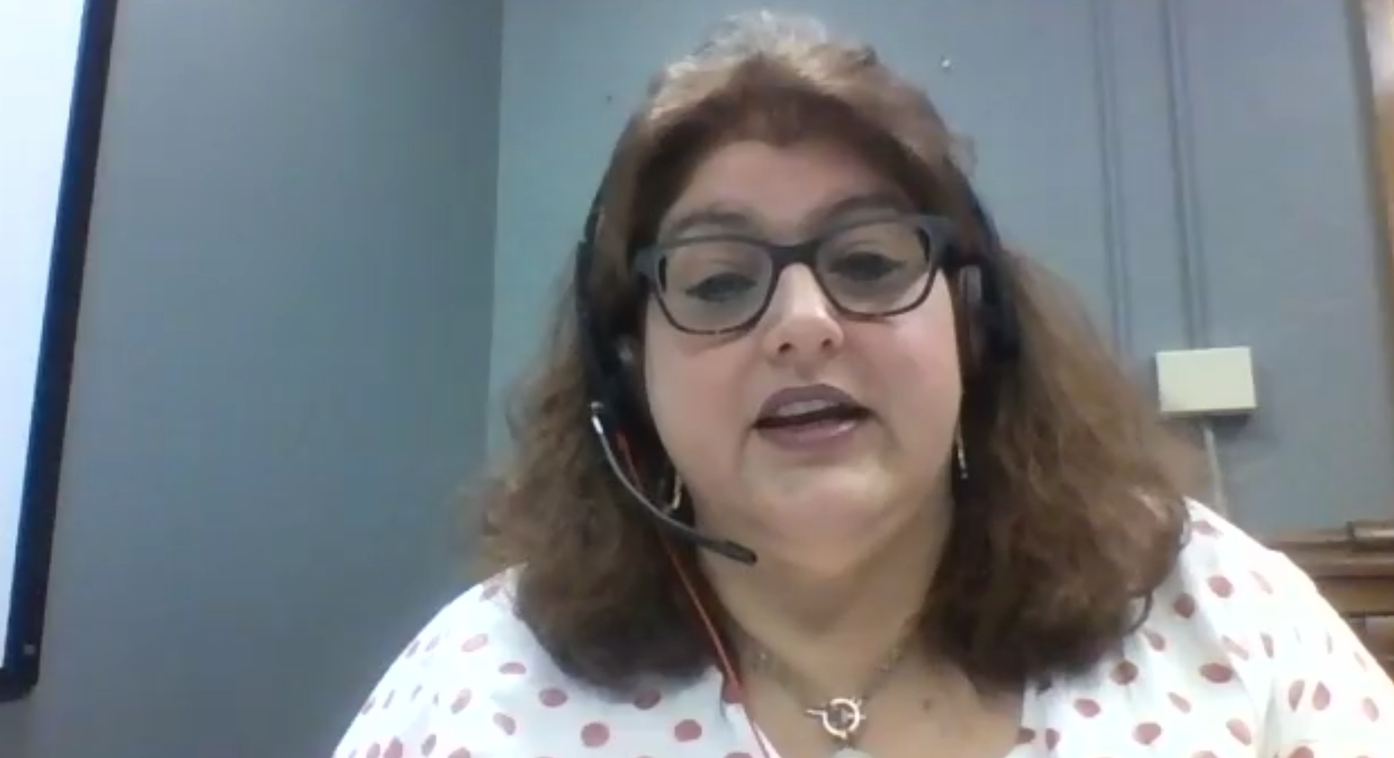 Indiana's chief academic officer, Robin LeClaire, speaks during Indiana Black Expo's virtual education conference.