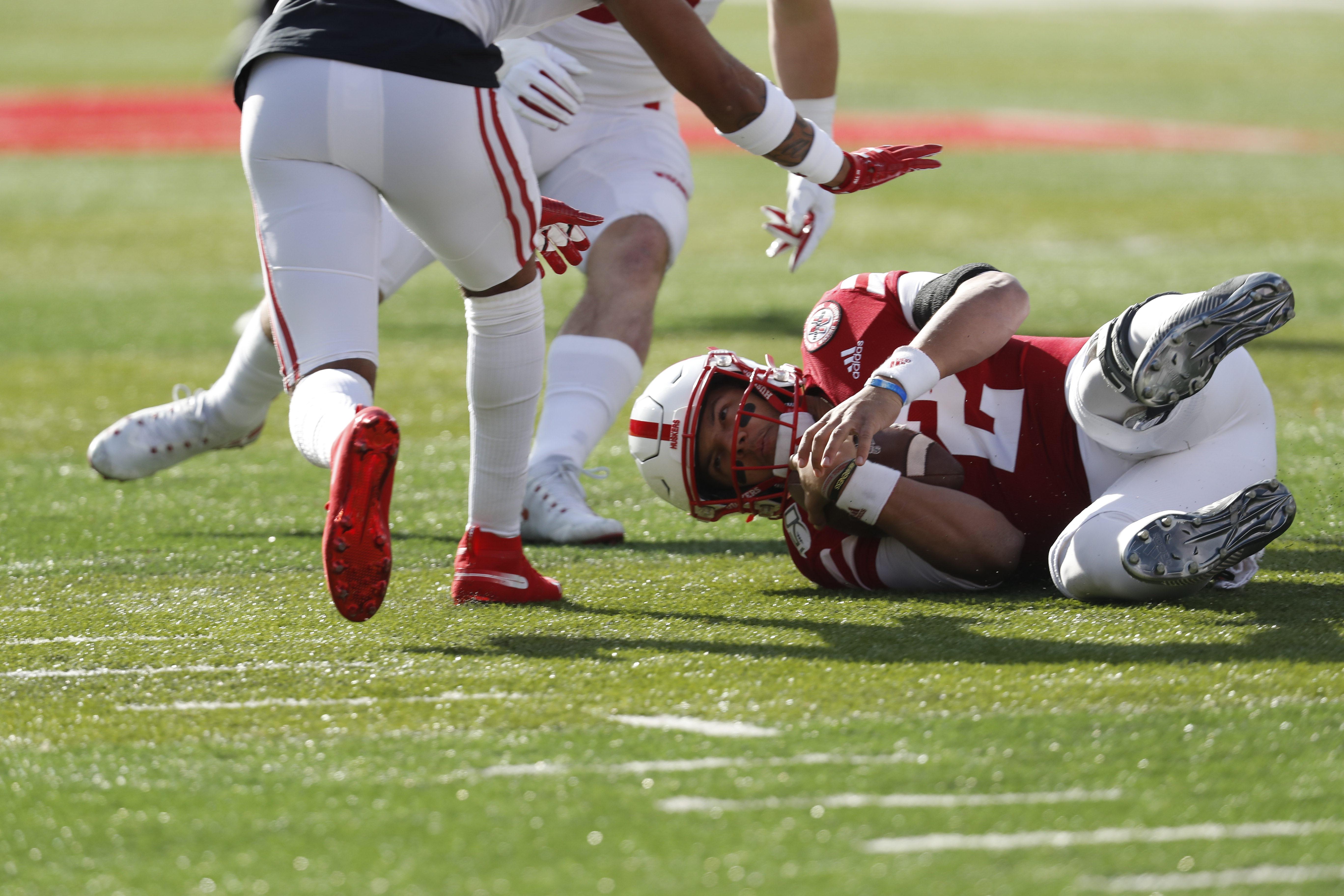 NCAA Football: Wisconsin at Nebraska