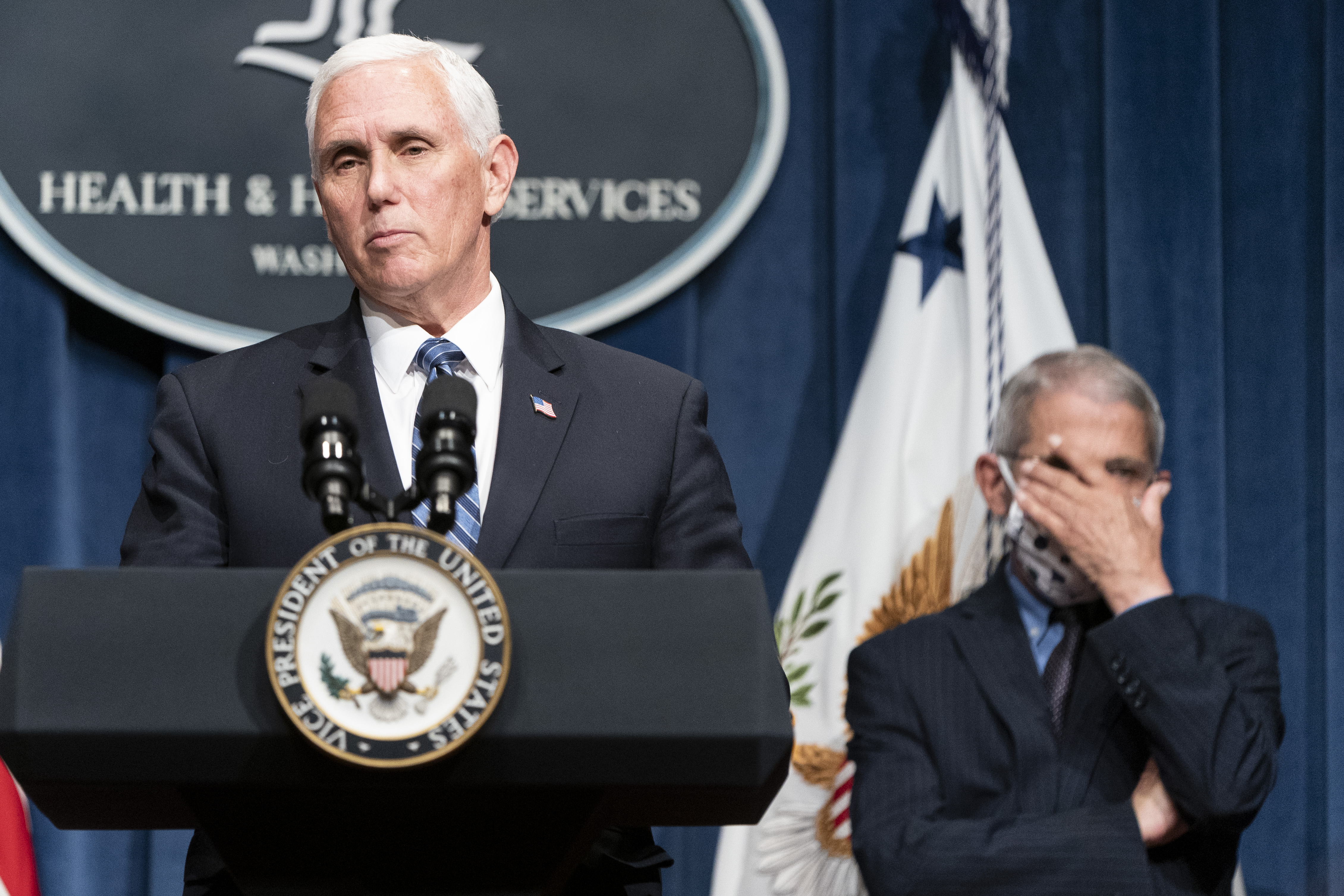 Vice President Pence Leads Coronavirus Task Force Briefing