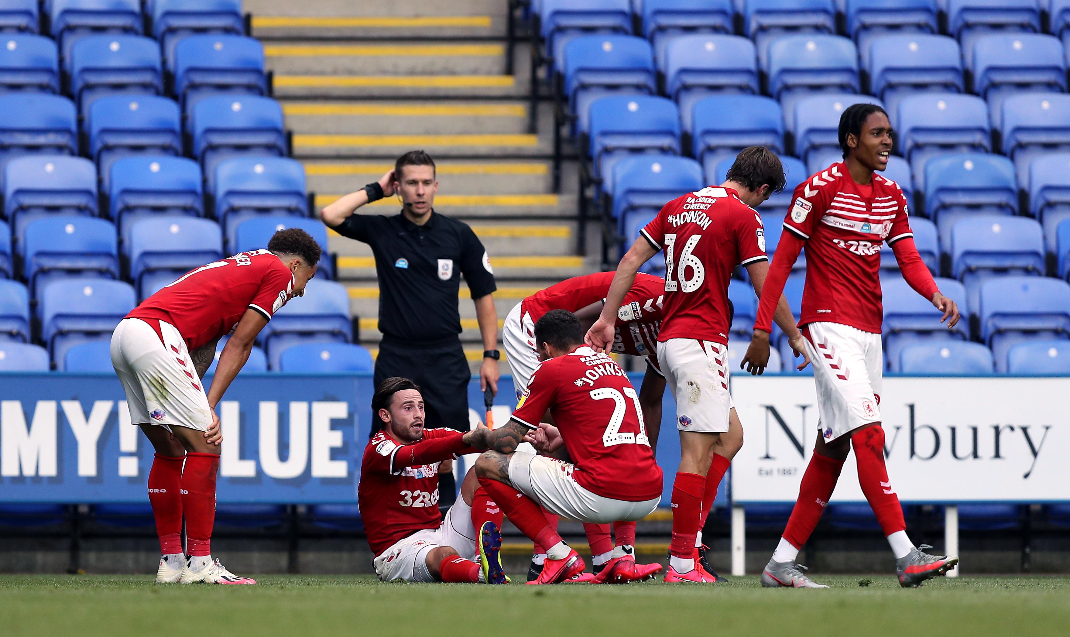 Reading v Middlesbrough - Sky Bet Championship - Madejski Stadium