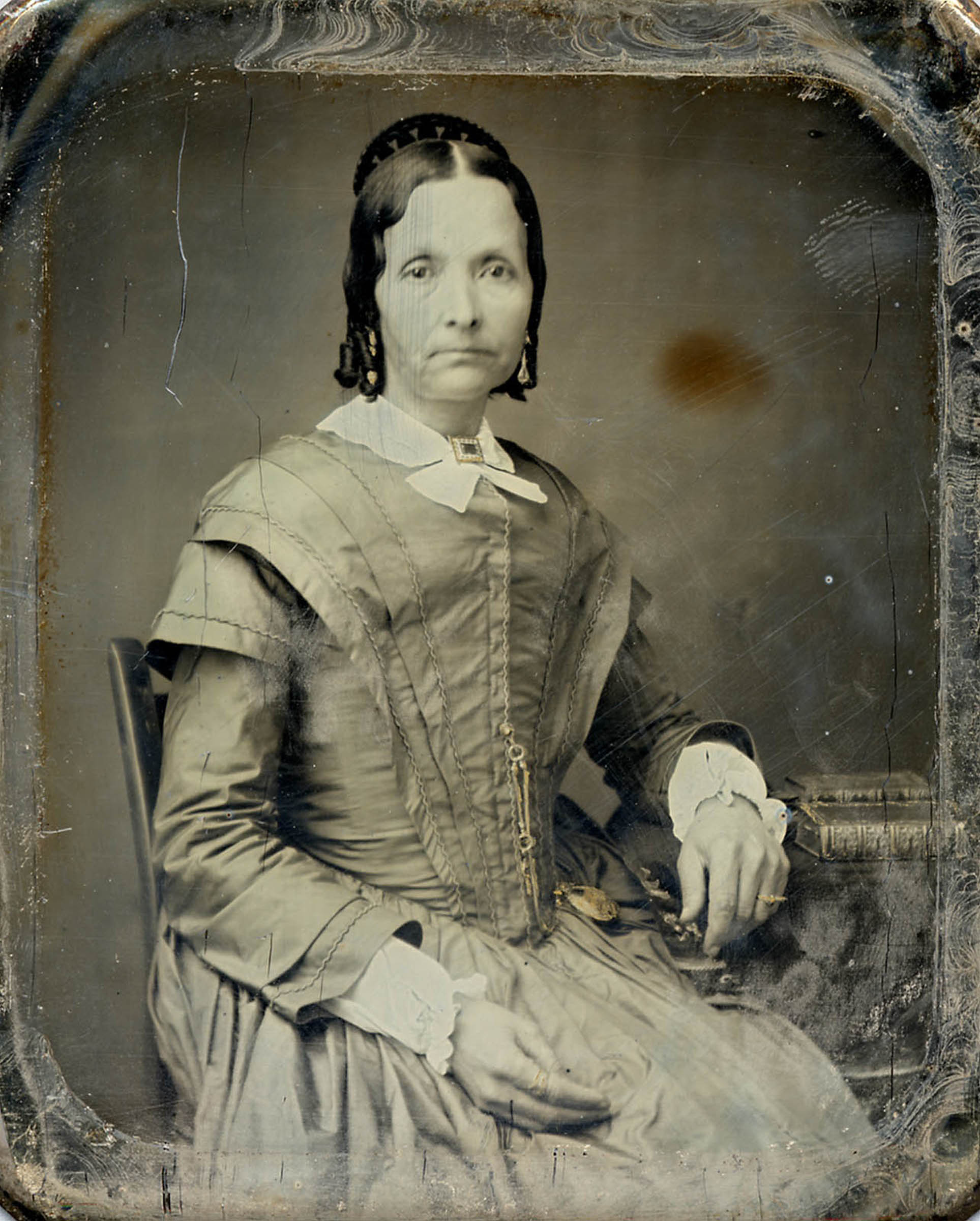 Eliza R. Snow, circa 1850s-1860s. She was the church's second general Relief Society president as well as a prolific poet, writer, teacher and historian.
