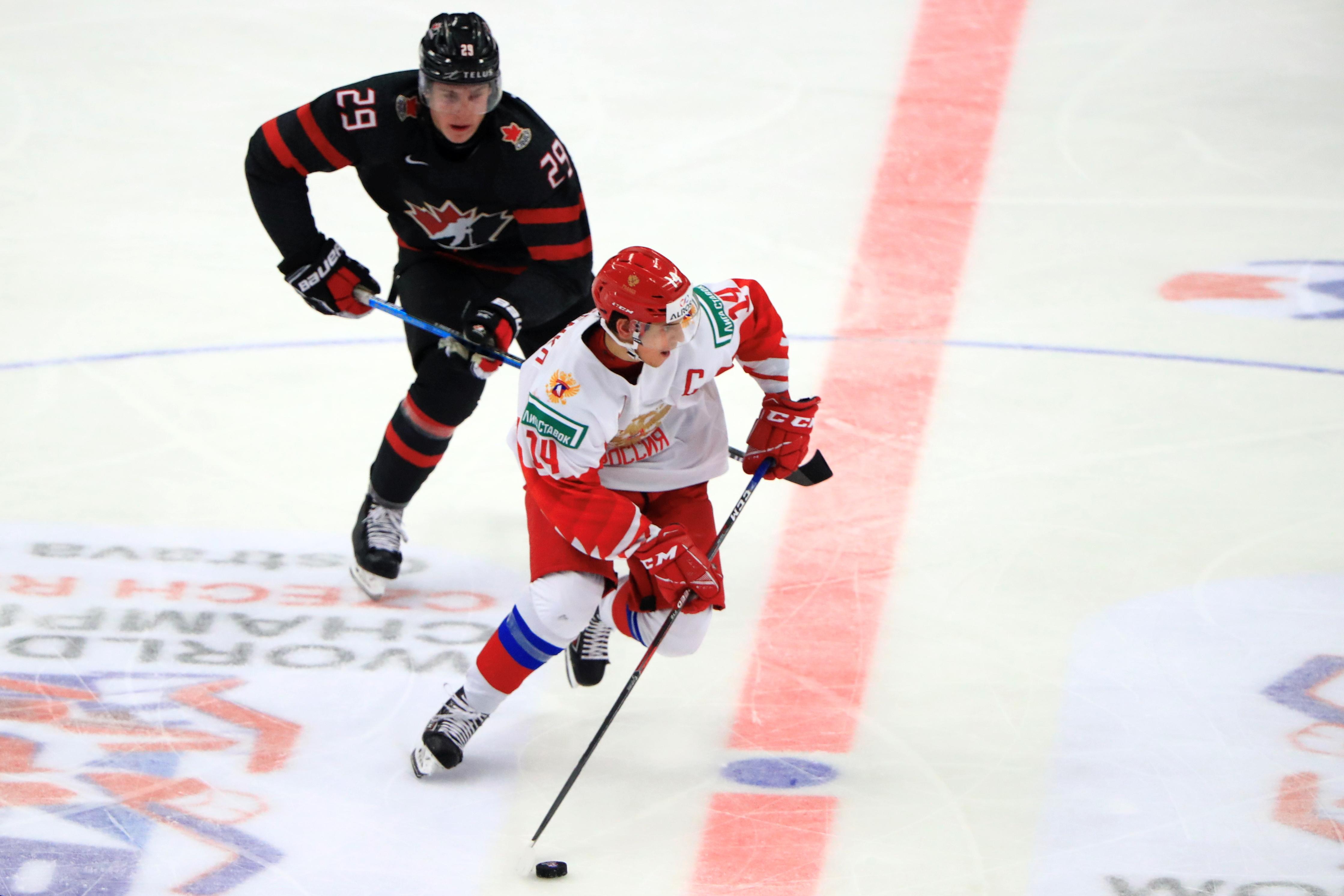 2020 World Junior Ice Hockey Championship, final: Canada vs Russia