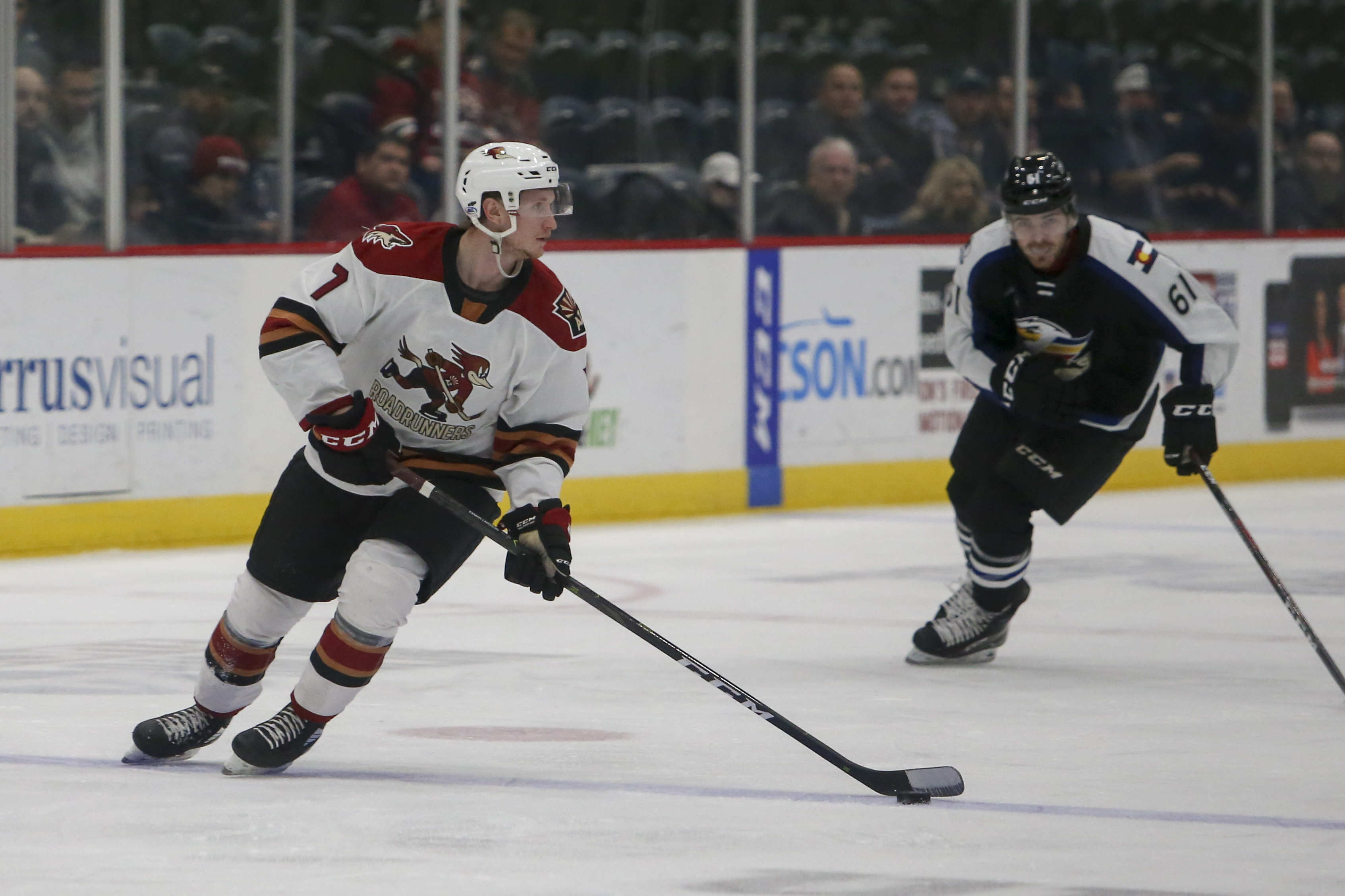 AHL:Tucson Roadrunners的DEC 11 Colorado Eagles