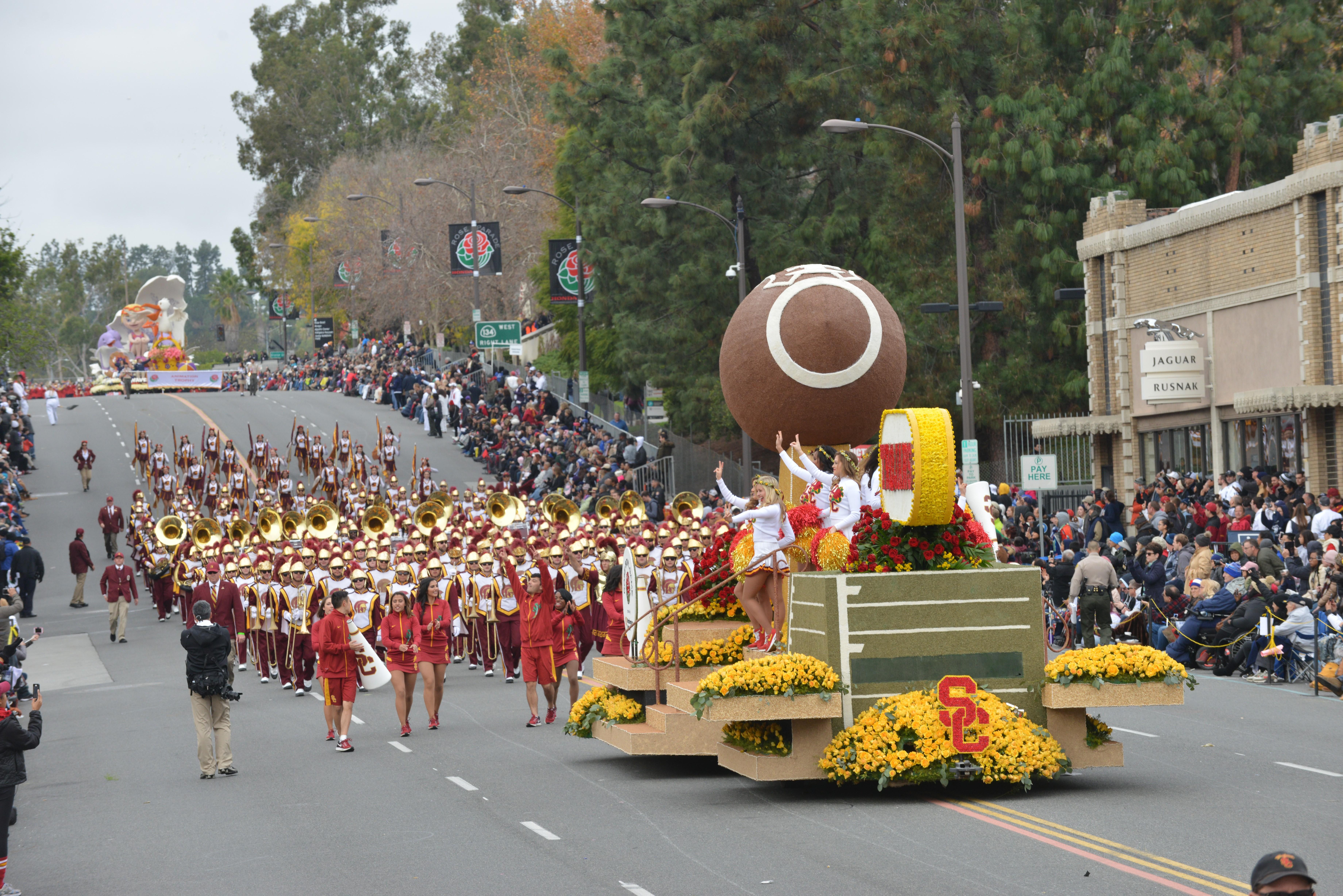 128th Rose Parade in California
