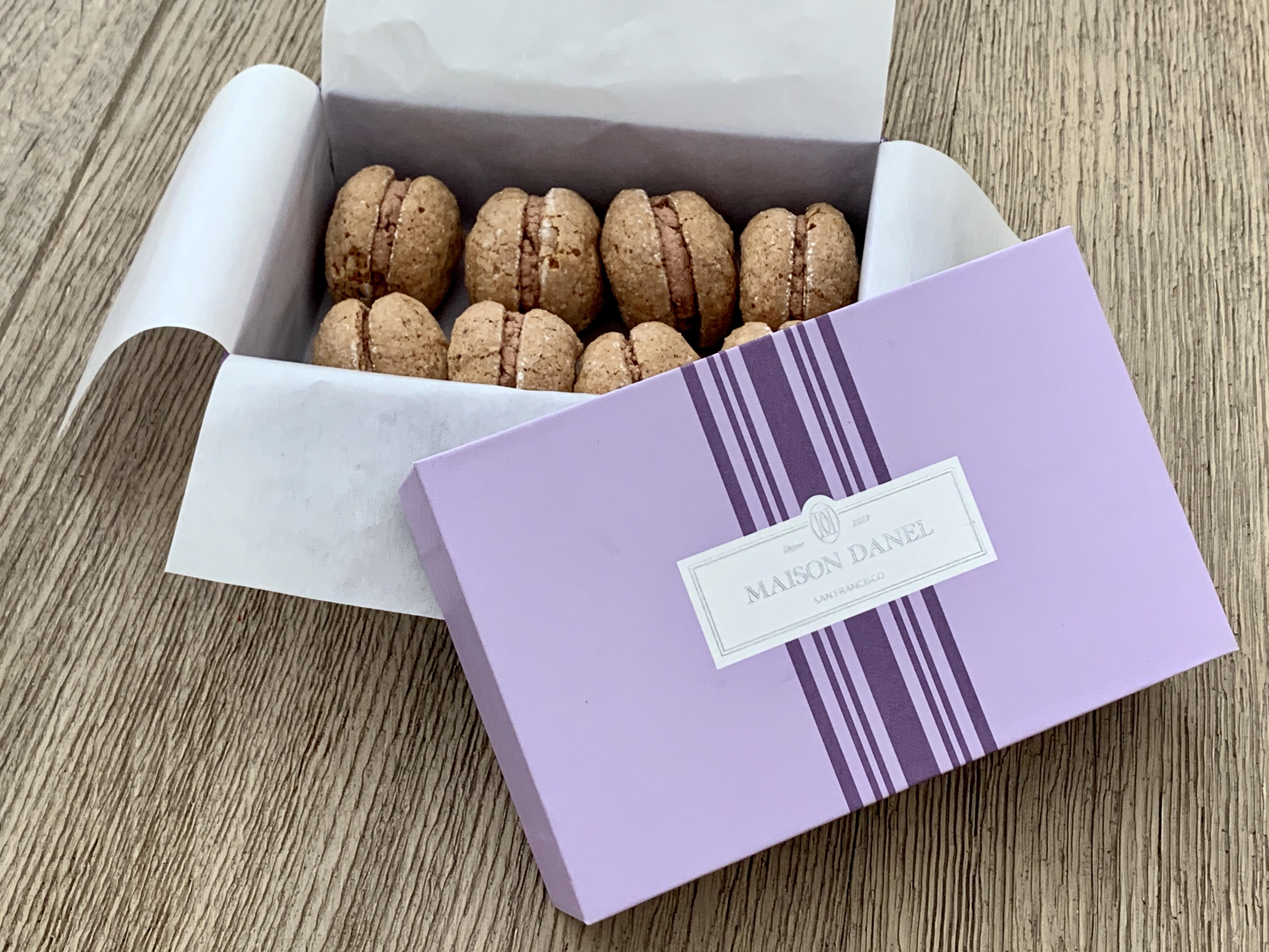 Macarons from Maison Danel
