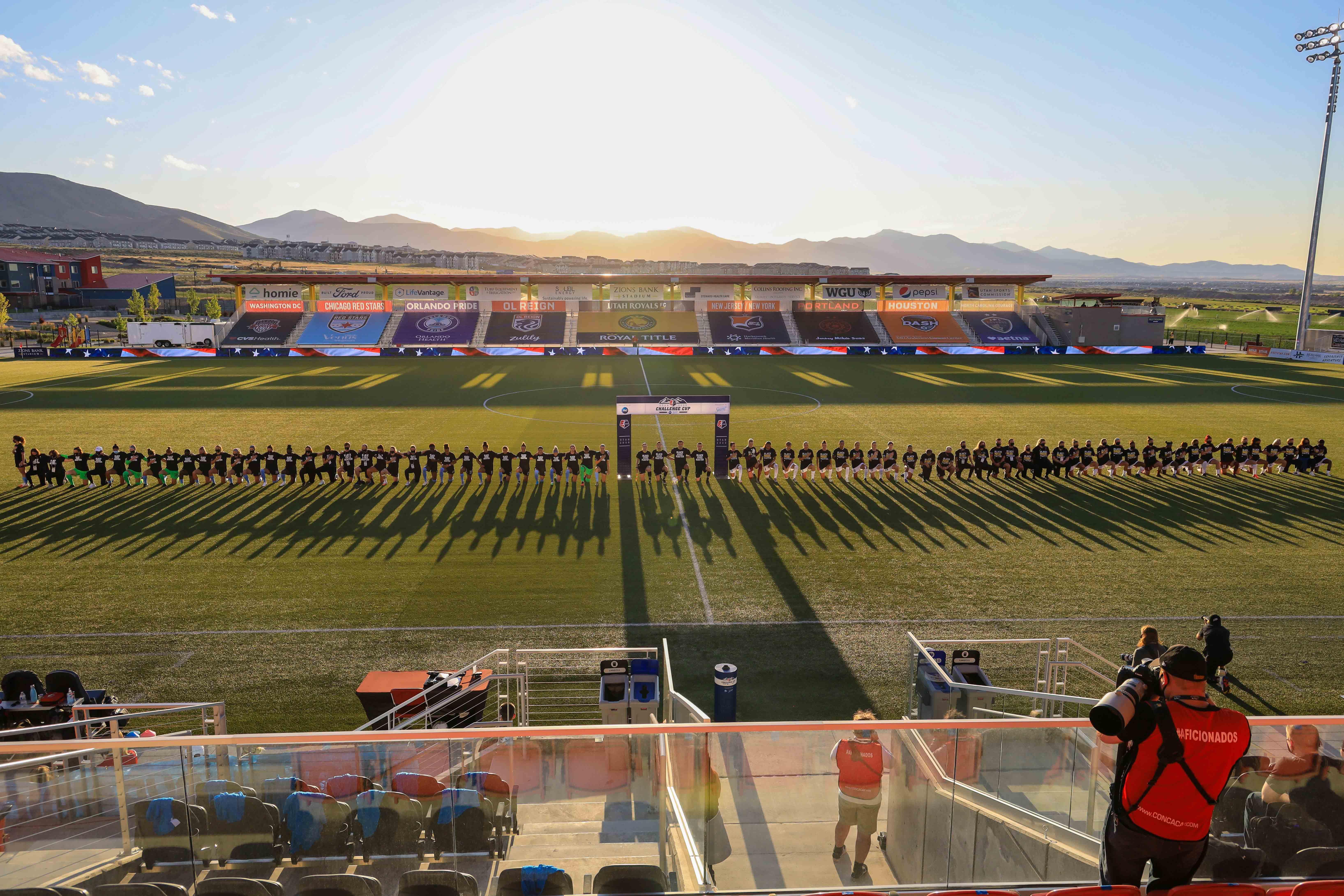 Soccer: NWSL Challenge Cup-OL Reign vs Sky Blue FC