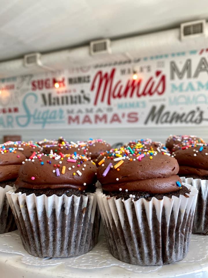 Chocolate cupcakes from Sugar Mama's