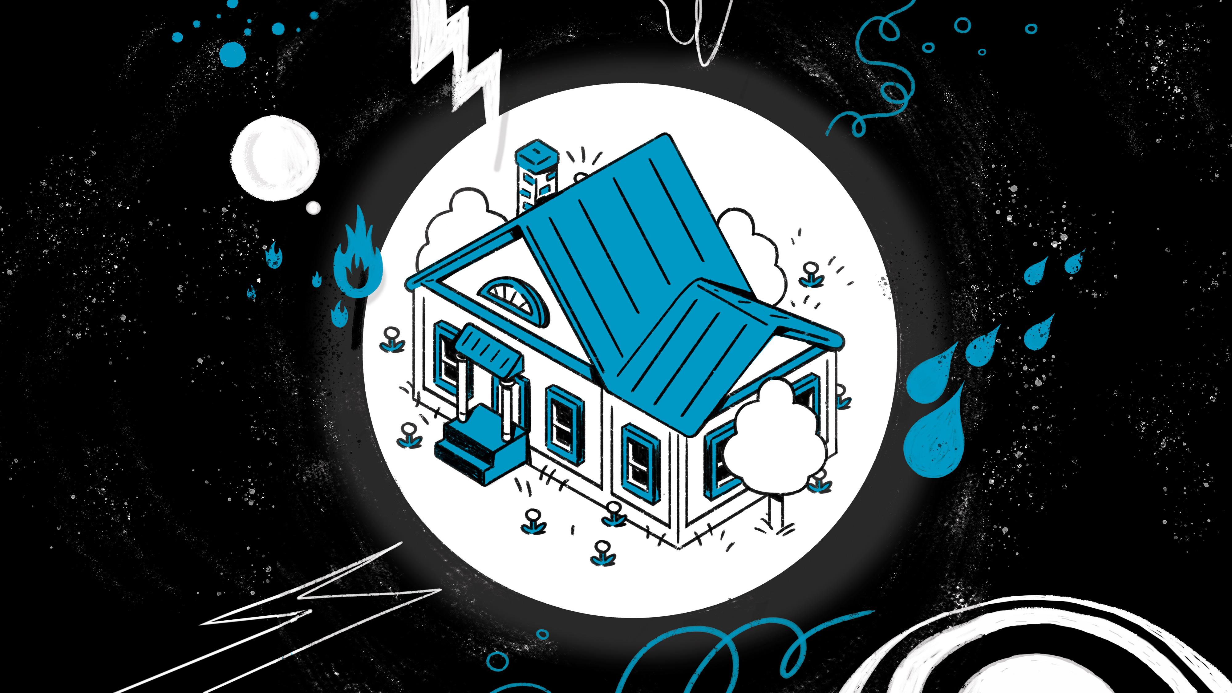 homeowner insurance illustration