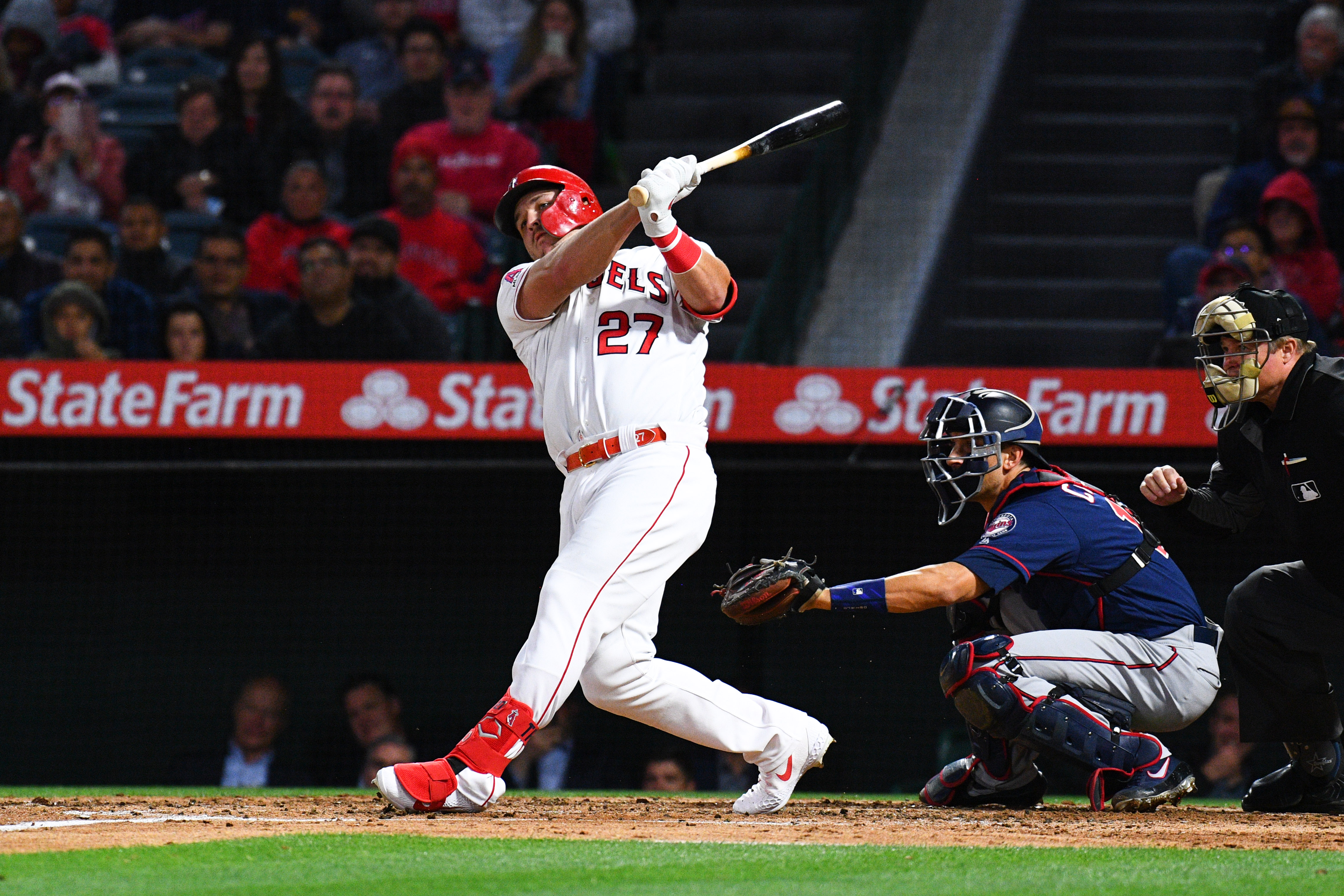 MLB: MAY 21 Twins at Angels
