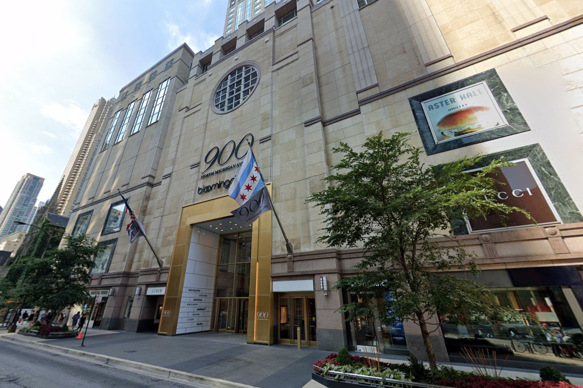 A large group broke the windows of a department store and stole merchandise July 17, 2020, in the 900 block of North Michigan Avenue.