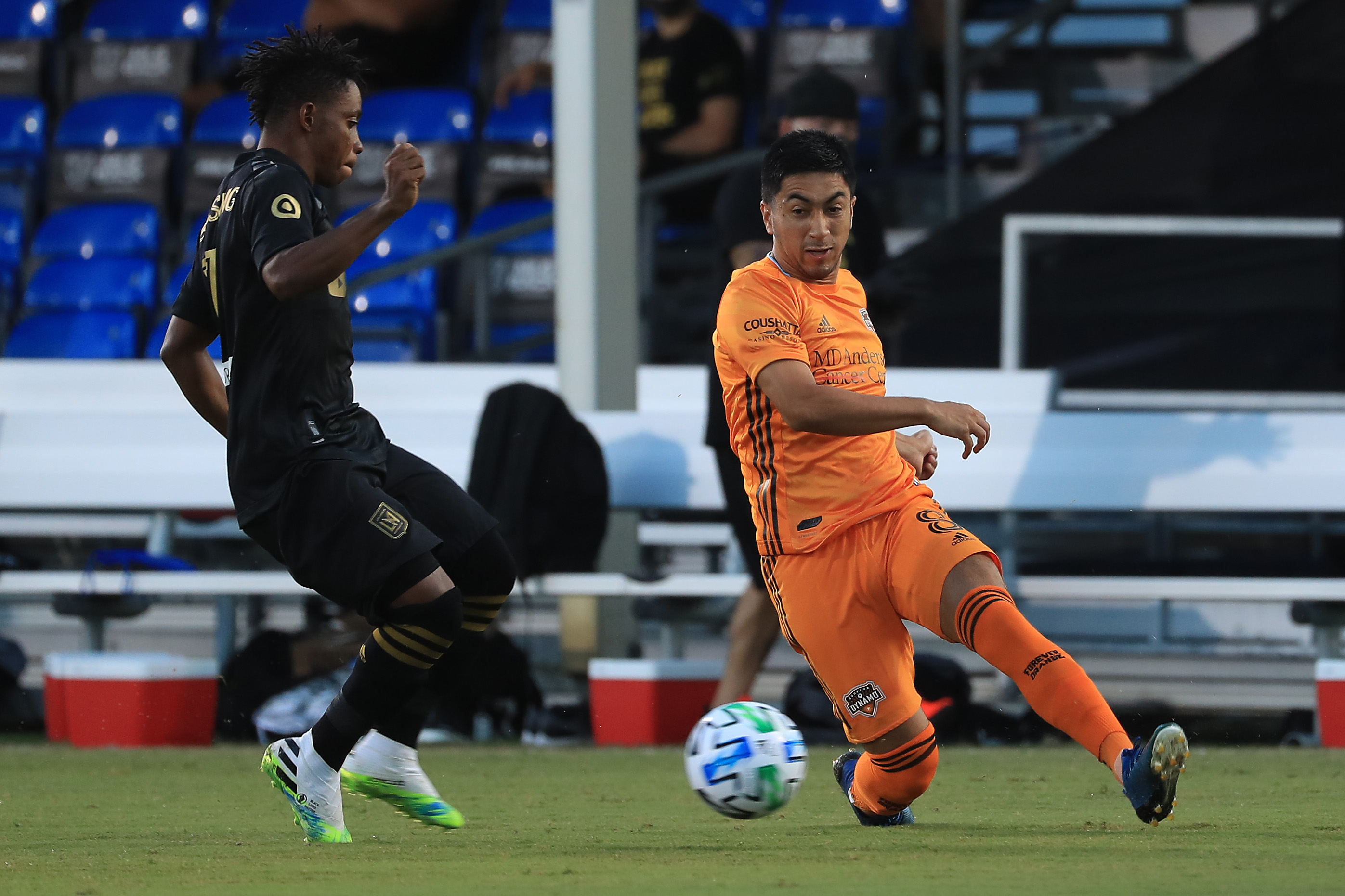 Los Angeles FC v Houston Dynamo - MLS Is Back Tournament
