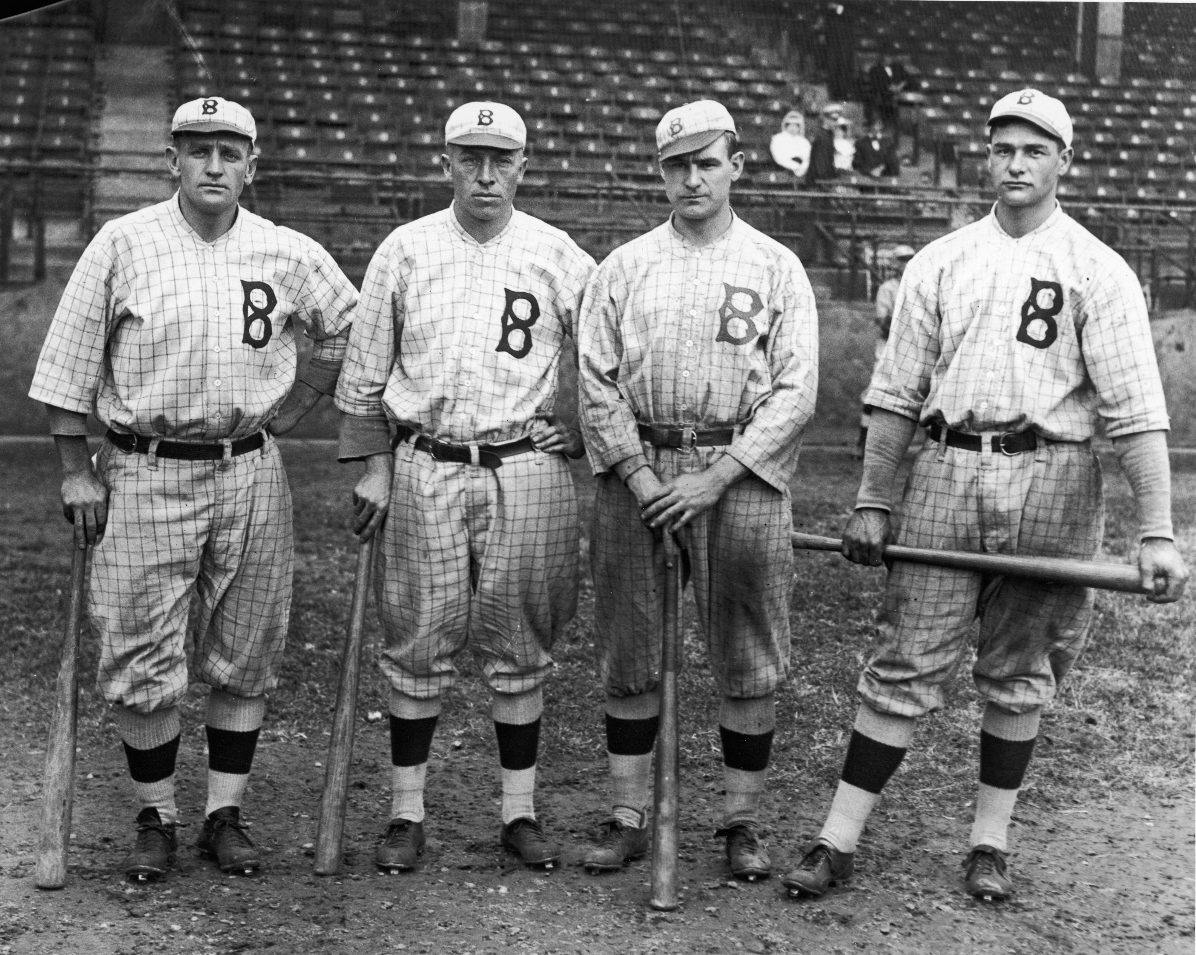 Brooklyn Robins' Outfielders