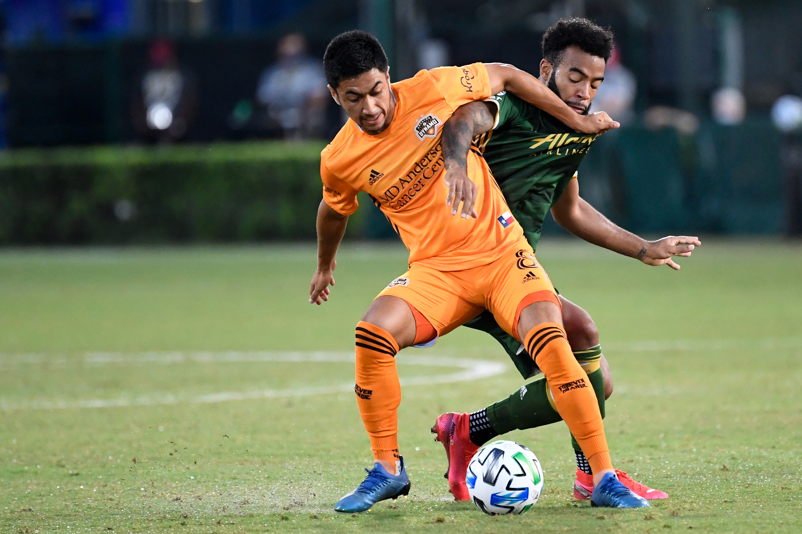 MLS: Houston Dynamo at Portland Timbers
