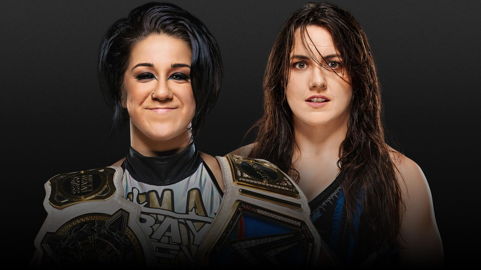 Match graphic for Bayley vs. Nikki Cross, Extreme Rules 2020