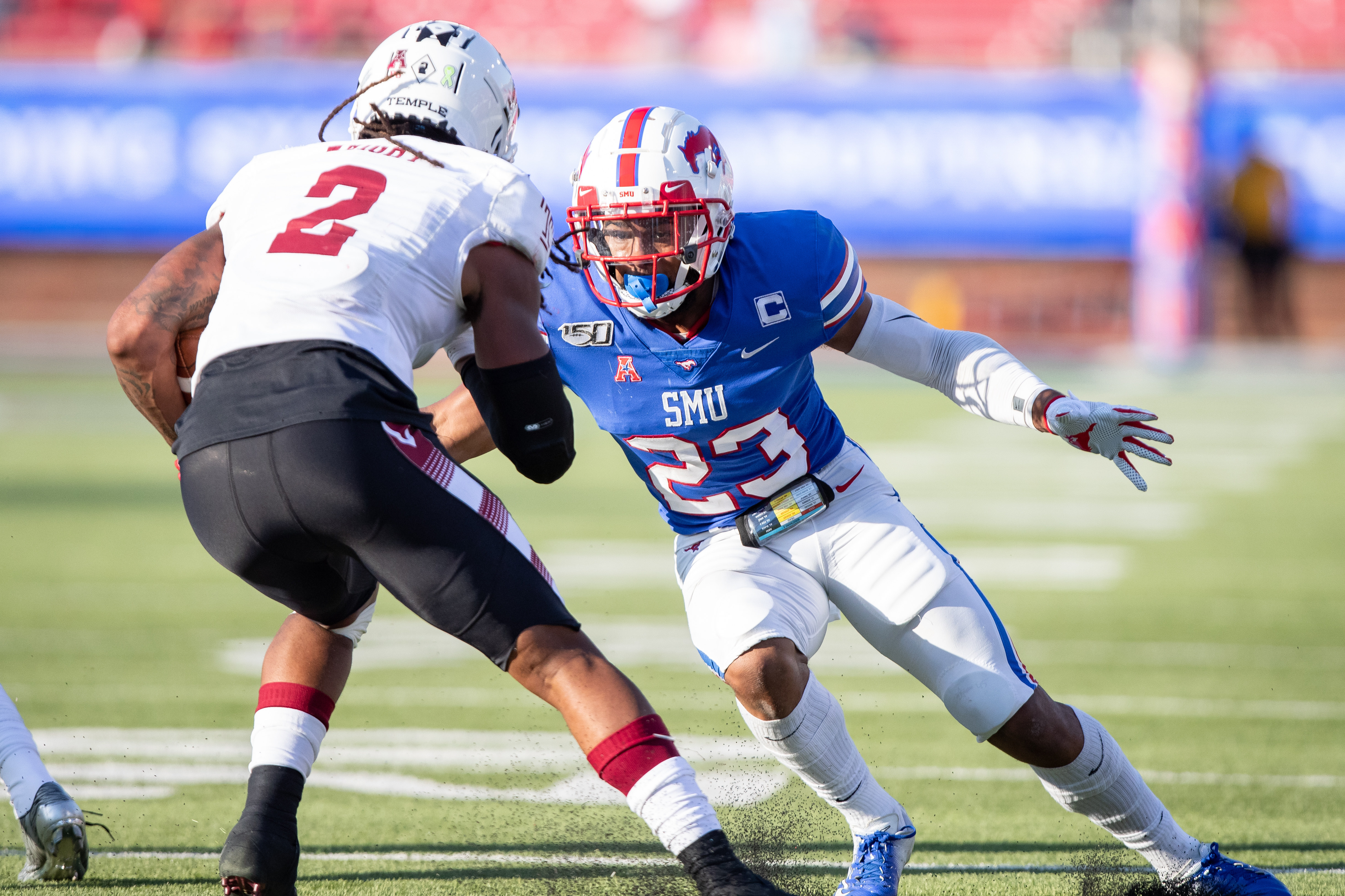 COLLEGE FOOTBALL: OCT 19 Temple at SMU