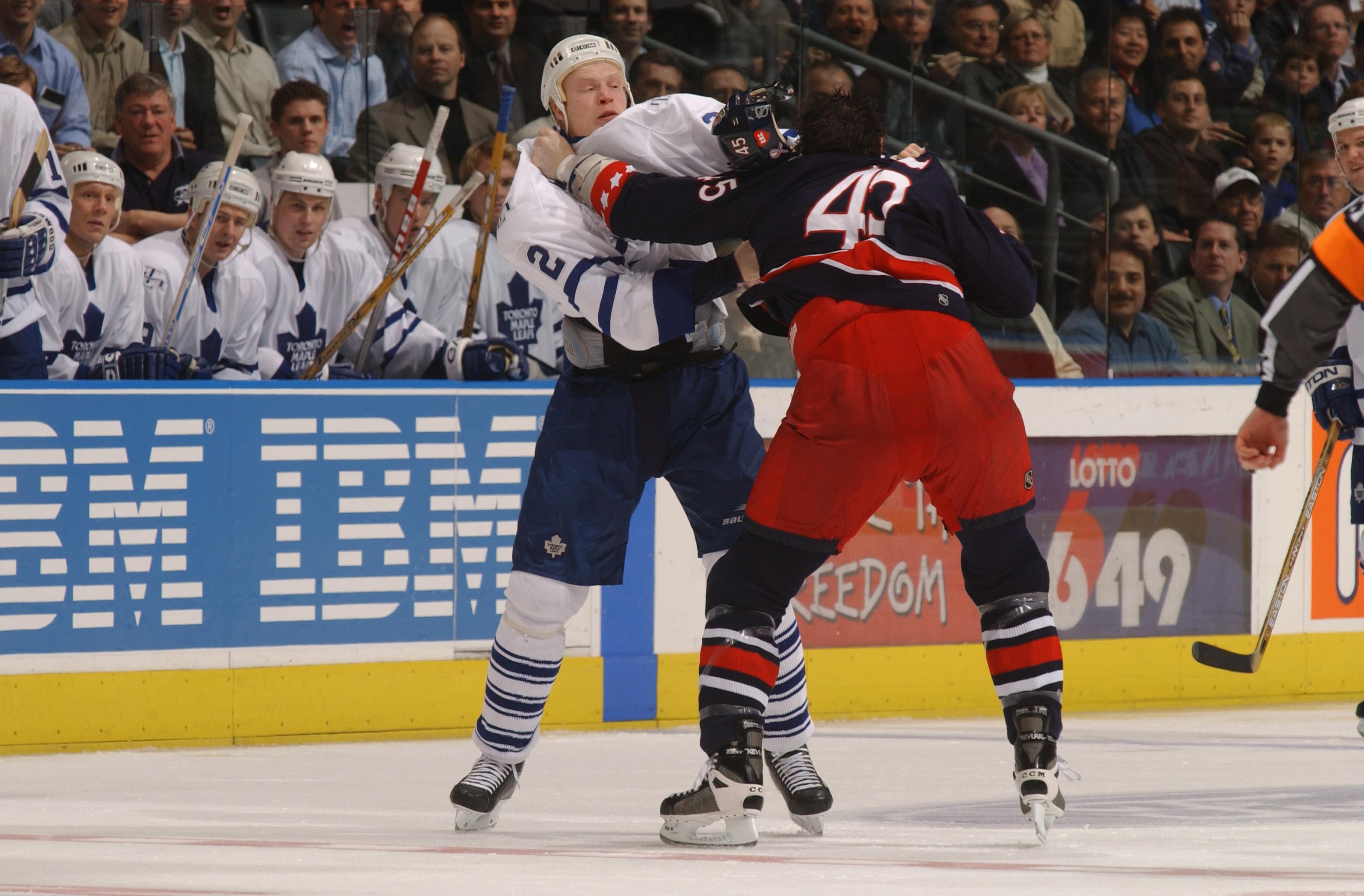 Blue Jackets v Maple Leafs