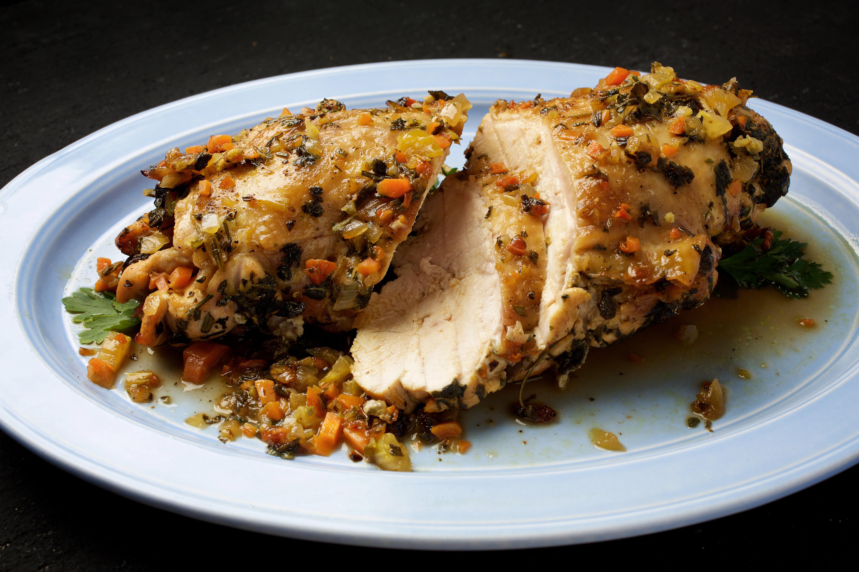 Stove-Top Roasted Turkey Breast (Arrosto Morto di Tacchino)