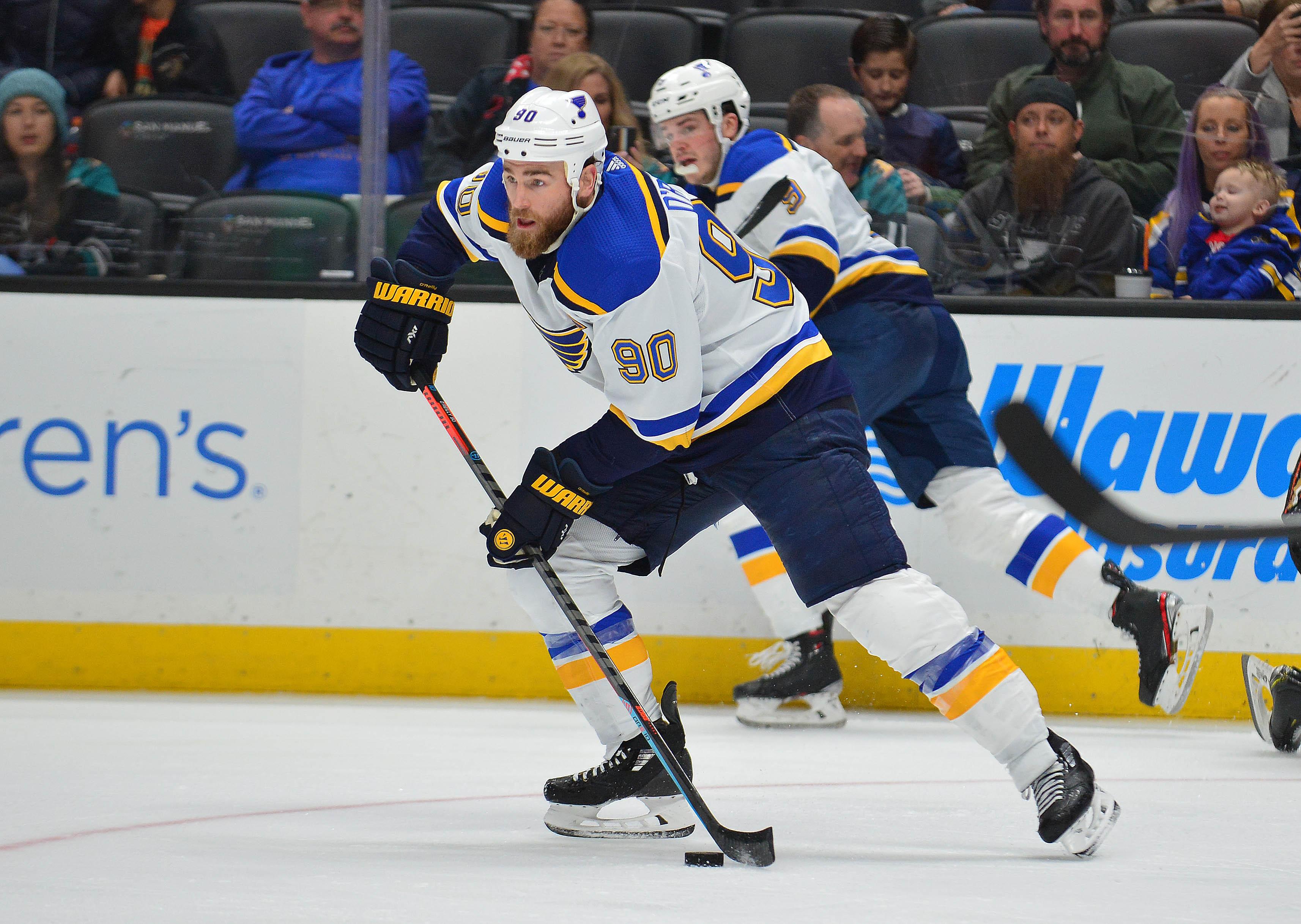 NHL: St. Louis Blues at Anaheim Ducks