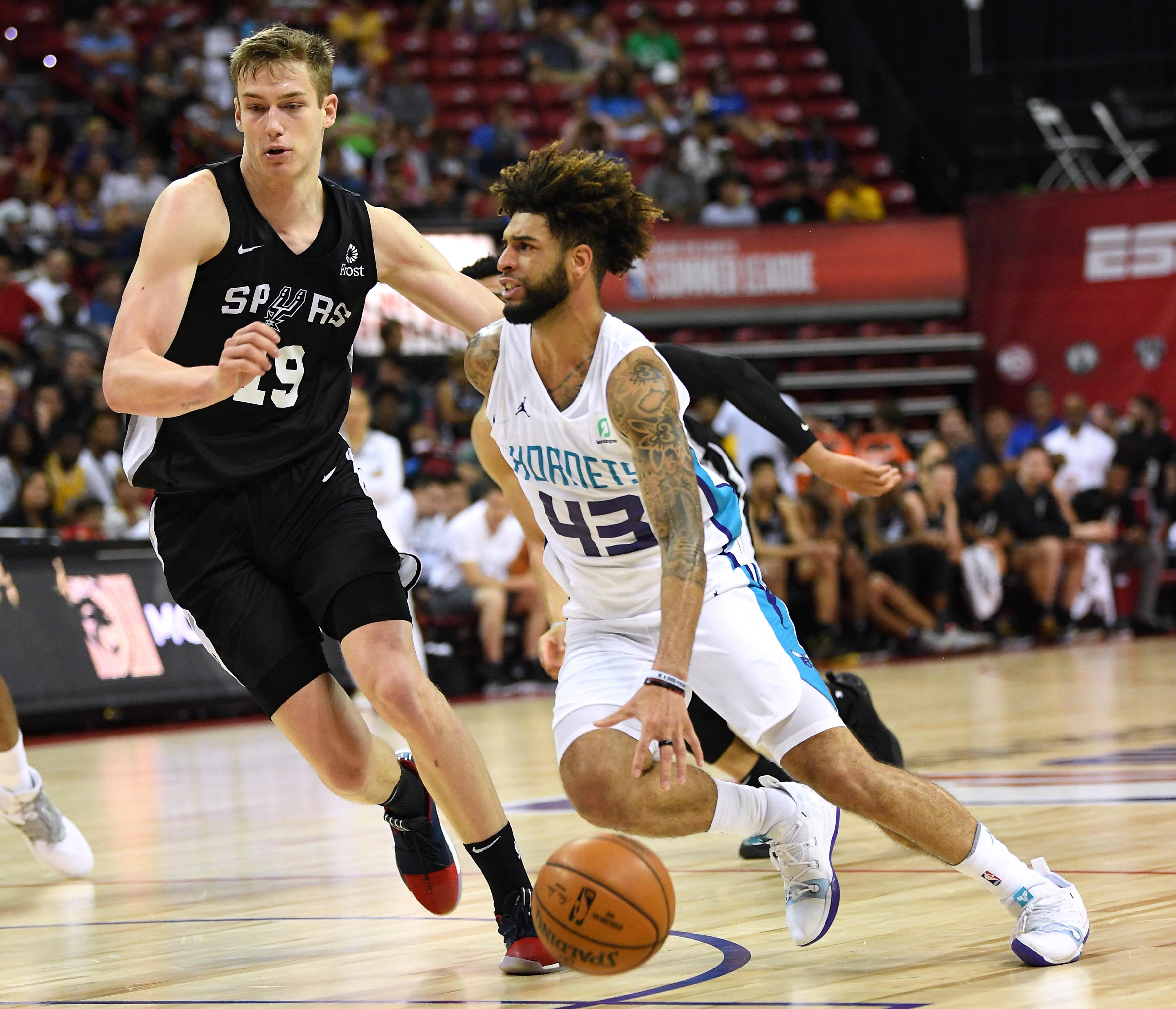 NBA: Summer League-Charlotte Hornets at San Antonio Spurs