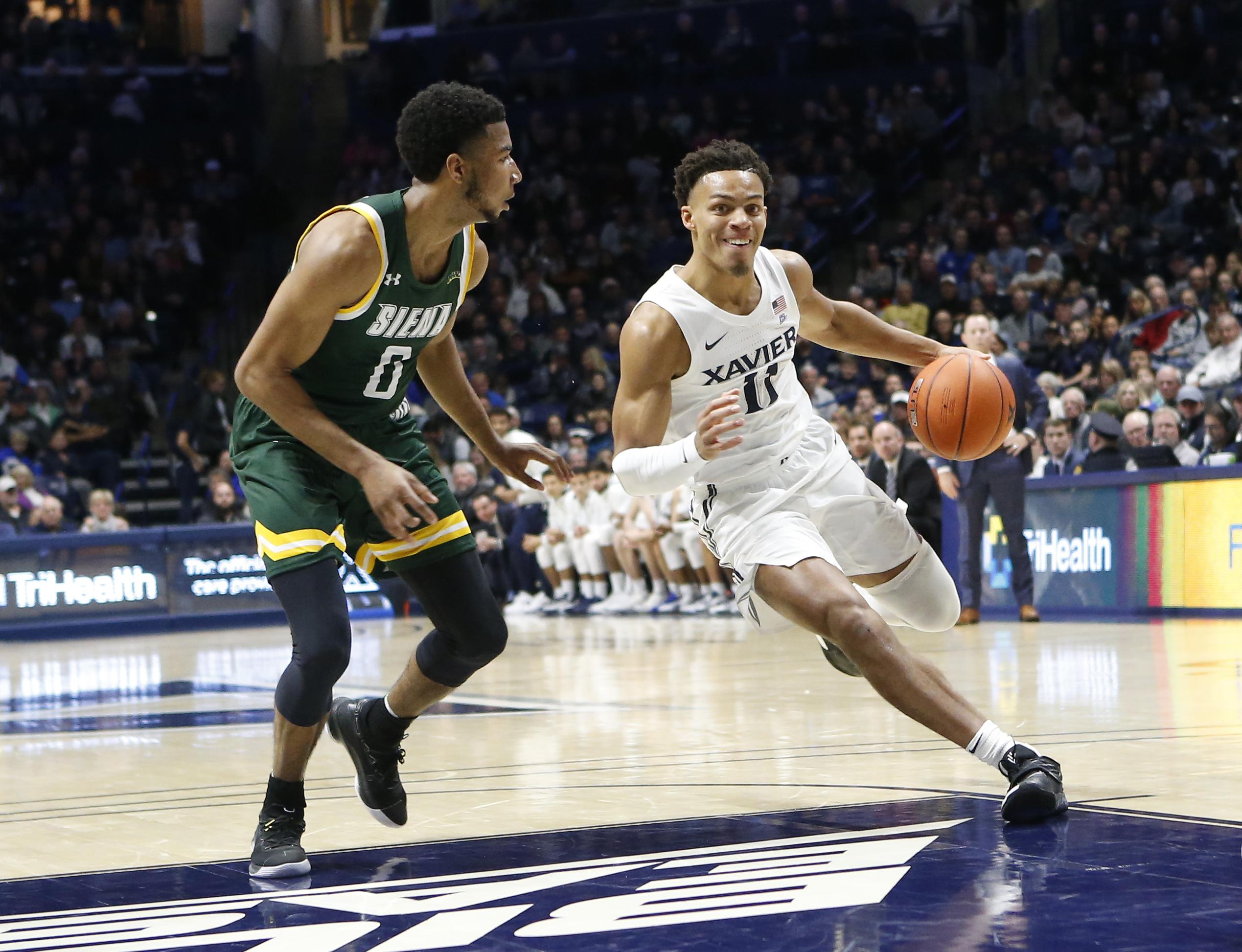NCAA Basketball: Siena at Xavier