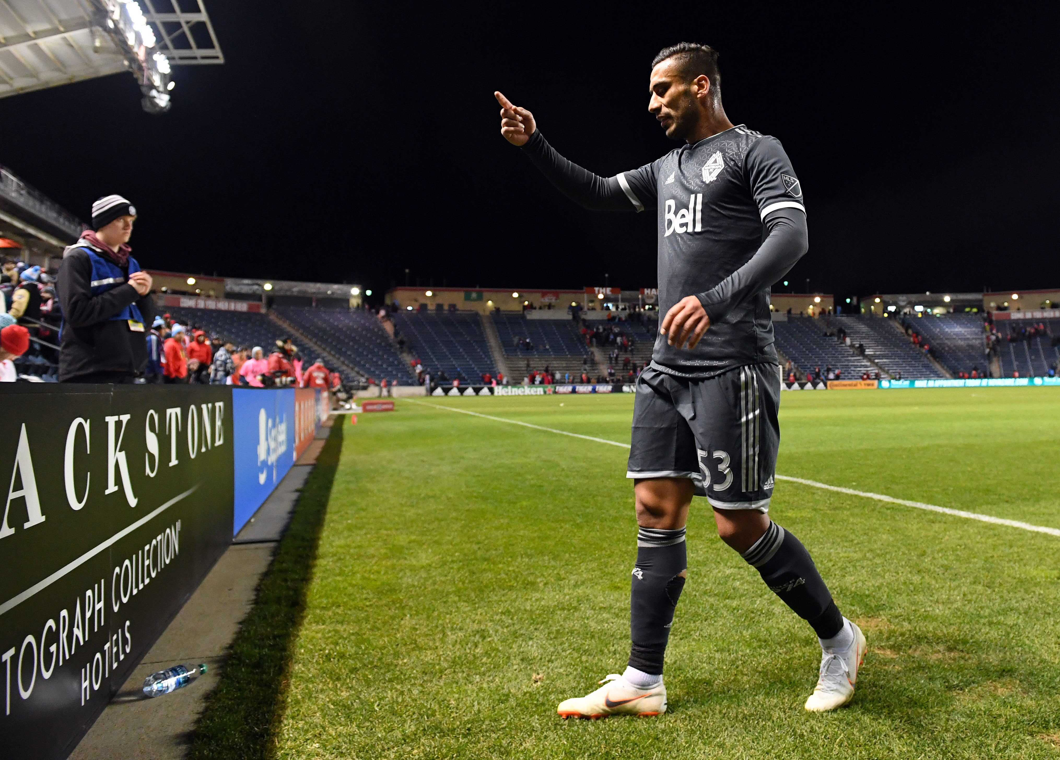 MLS: Vancouver Whitecaps FC at Chicago Fire