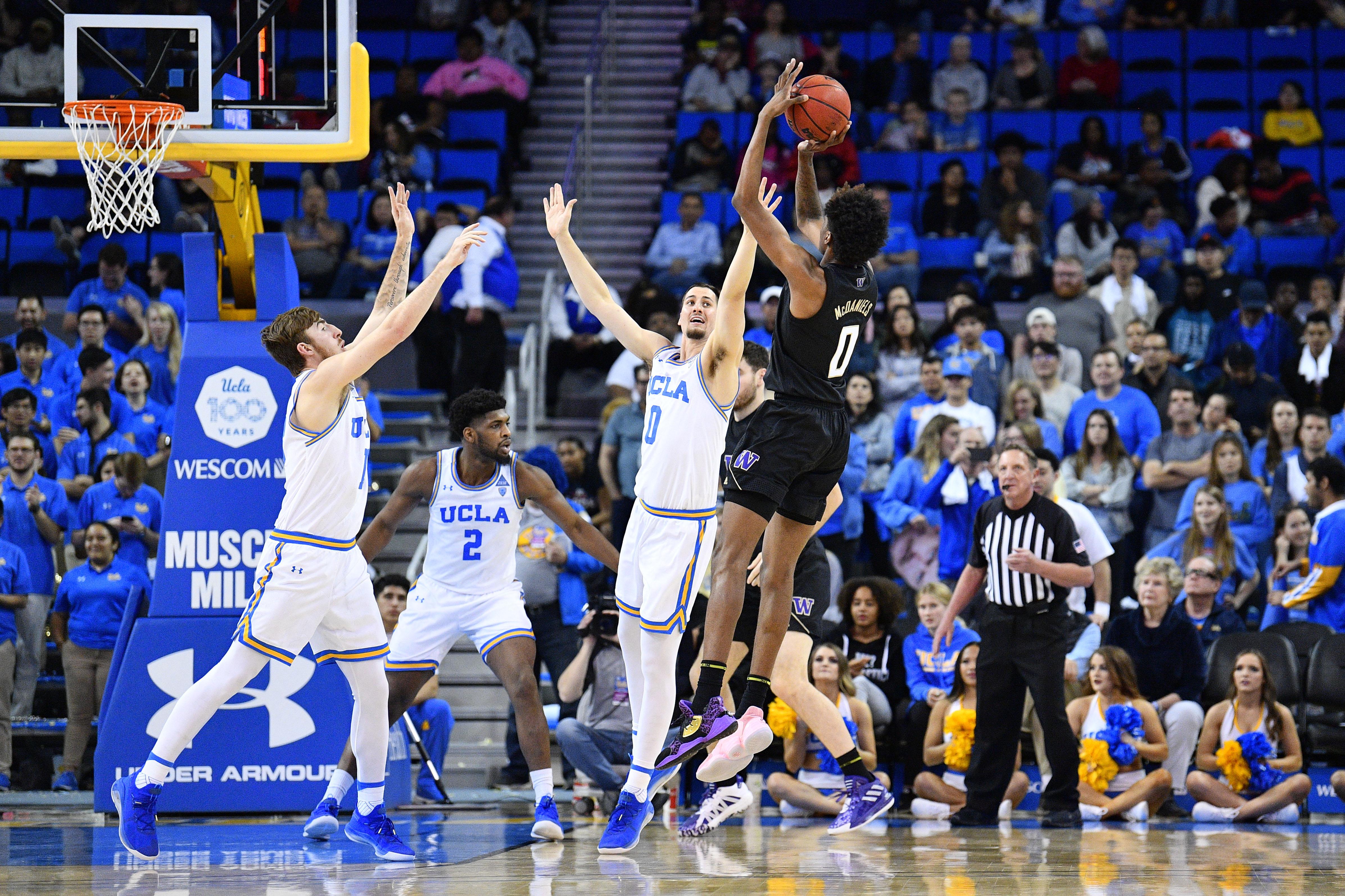 COLLEGE BASKETBALL: FEB 15 Washington at UCLA