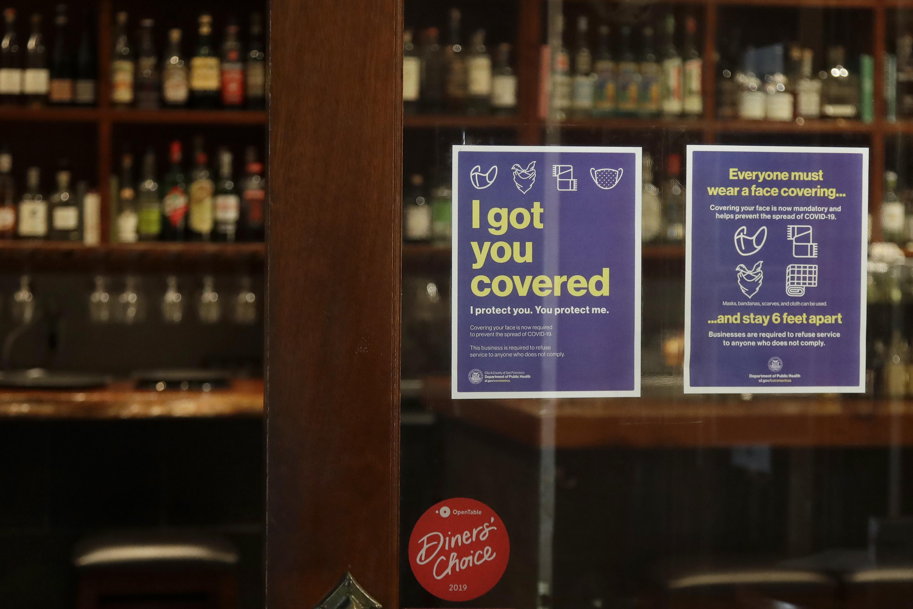 coronavirus, restaurants, masks