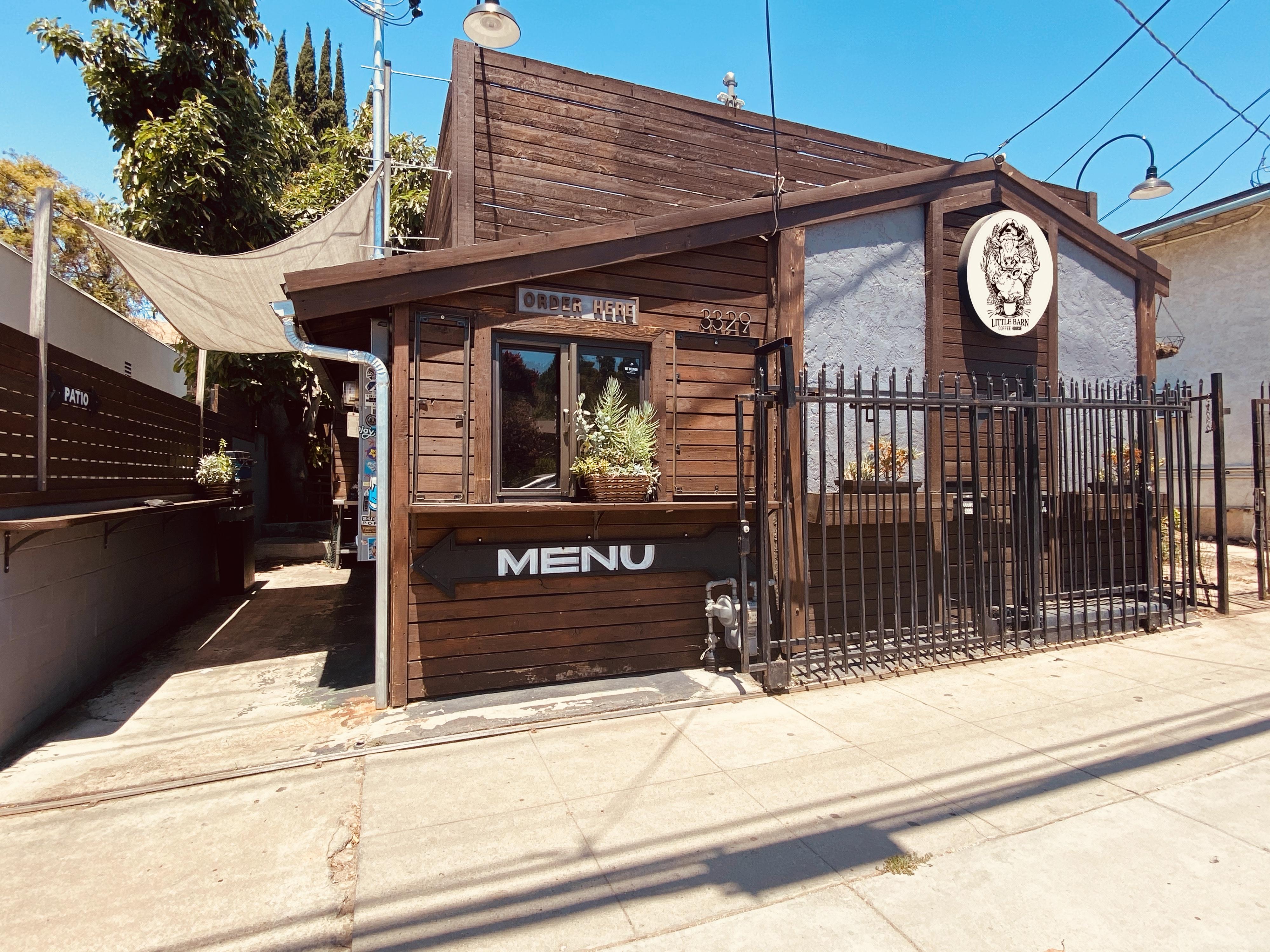 Little Barn Coffee in Glassell Park, California