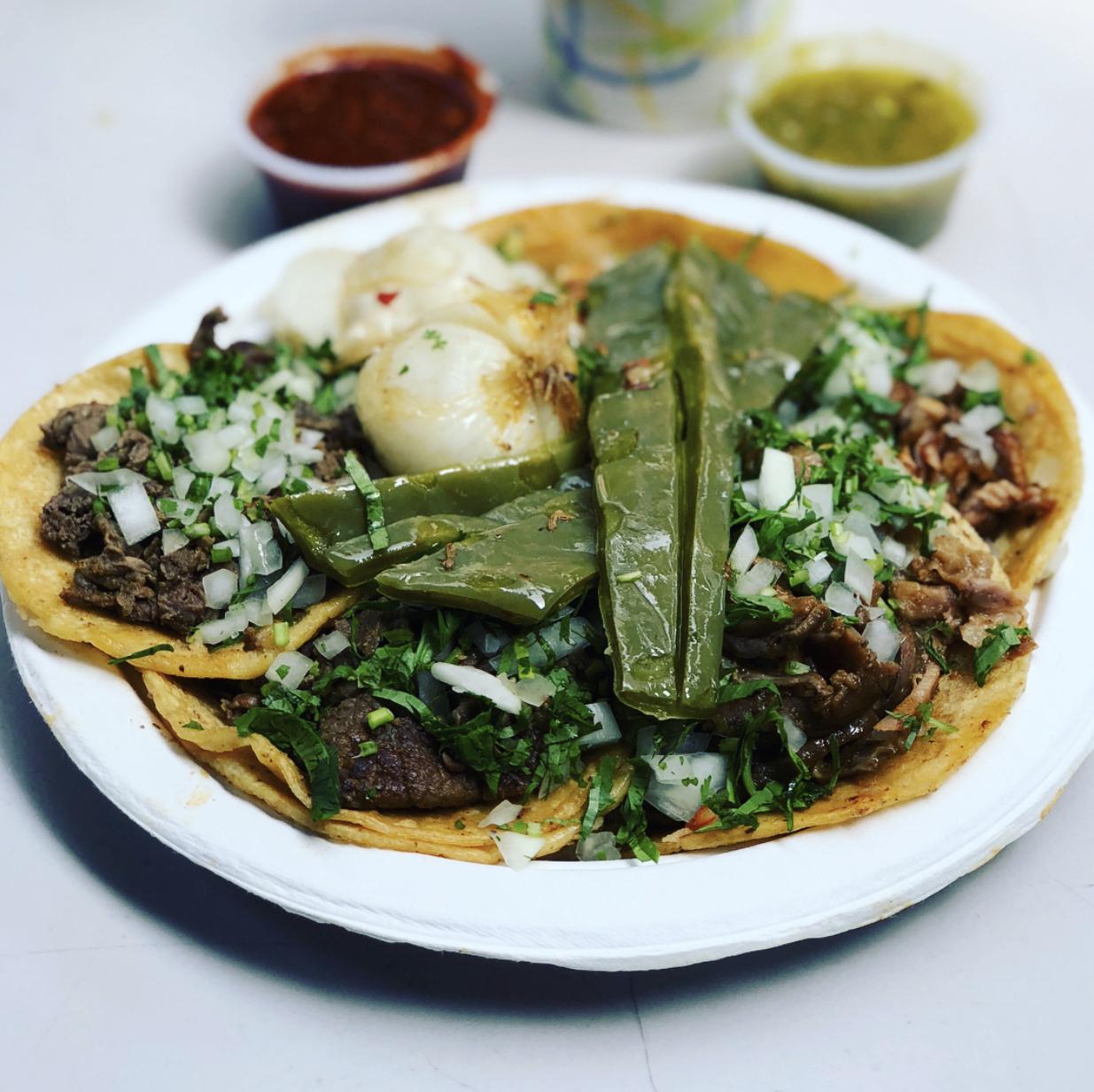 Tacos at Taqueria El Paisa@.com