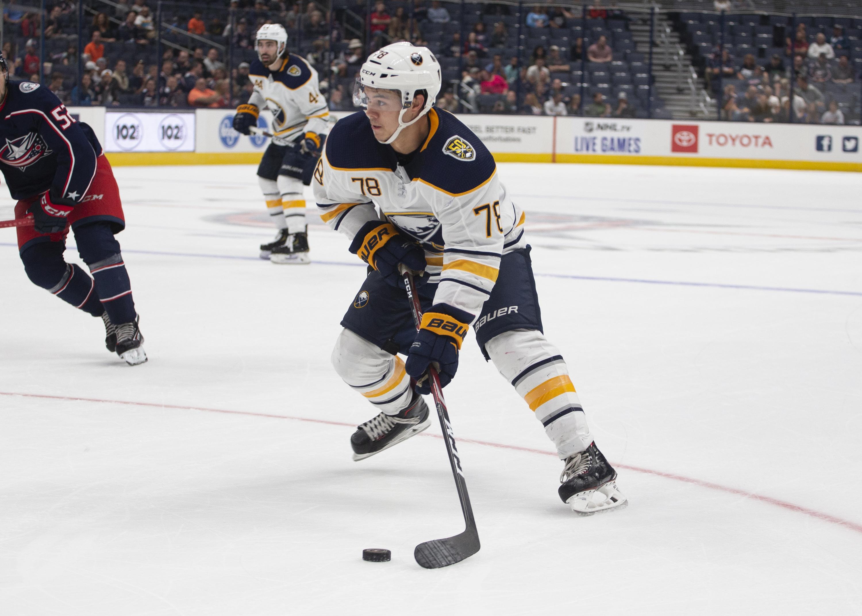 NHL: SEP 17 Preseason - Sabres at Blue Jackets