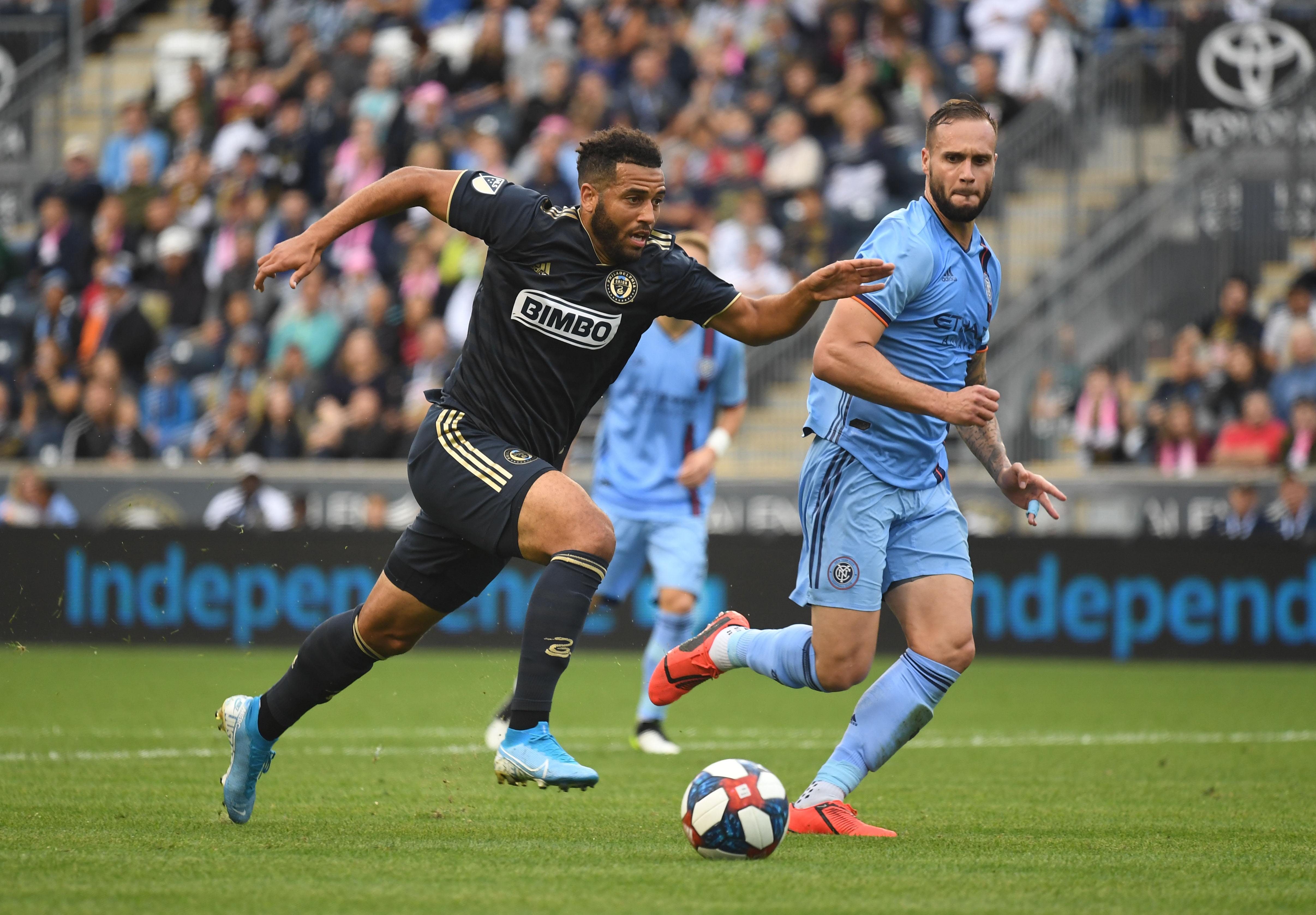 MLS: New York City FC at Philadelphia Union
