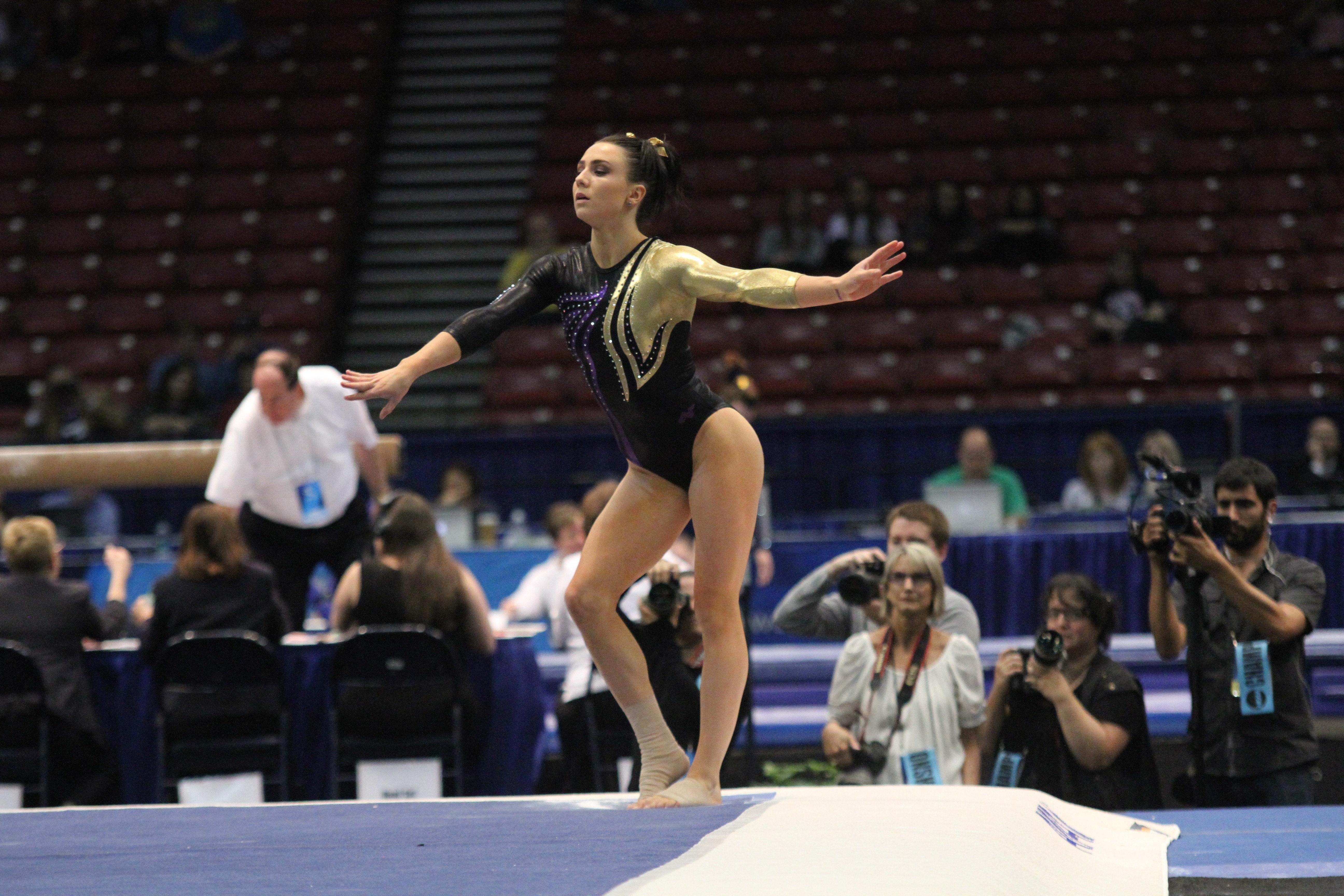 NCAA GYMNASTICS: APR 18 NCAA Women's Gymnastics Championships