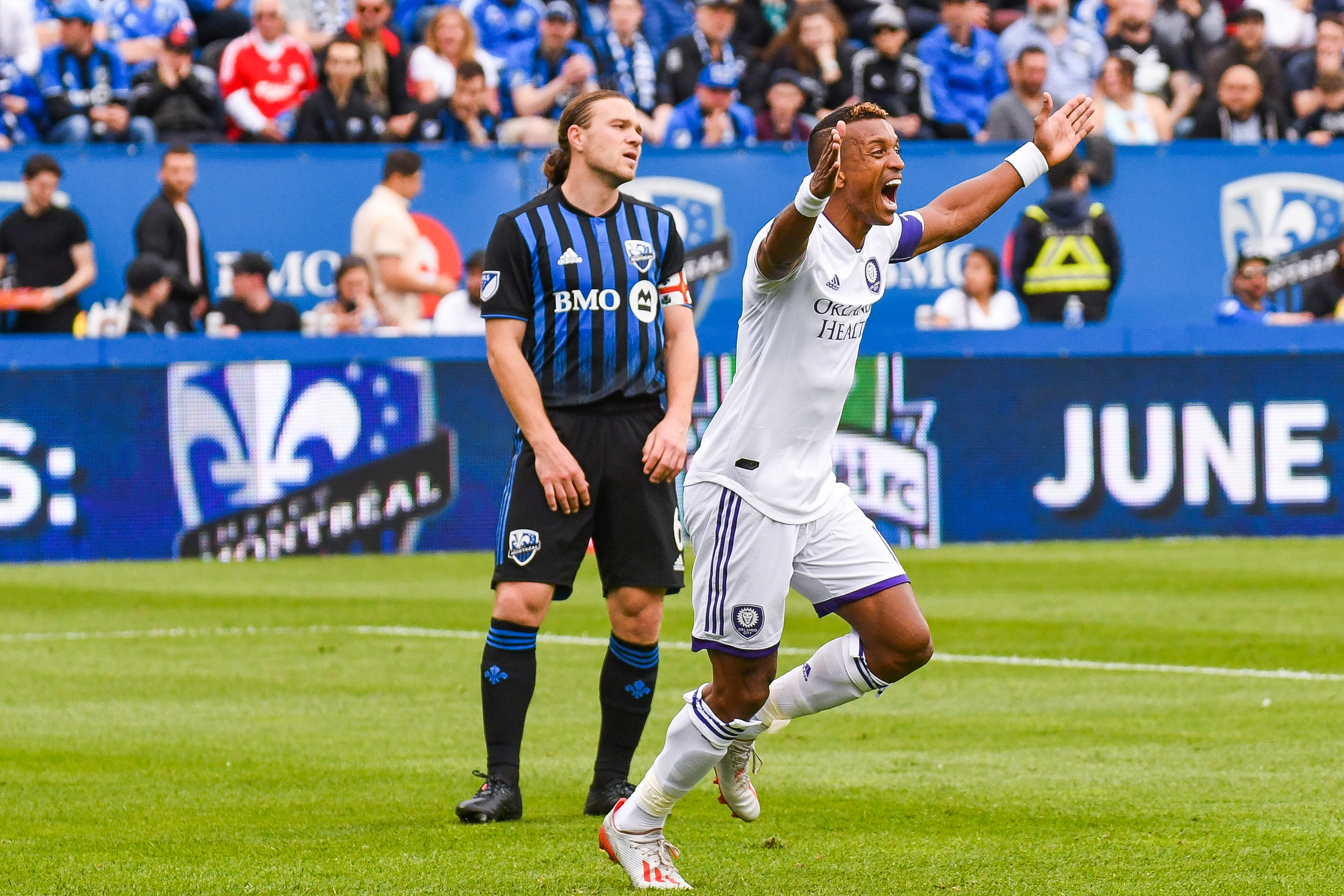 SOCCER: JUN 01 MLS - Orlando City SC at Montreal Impact