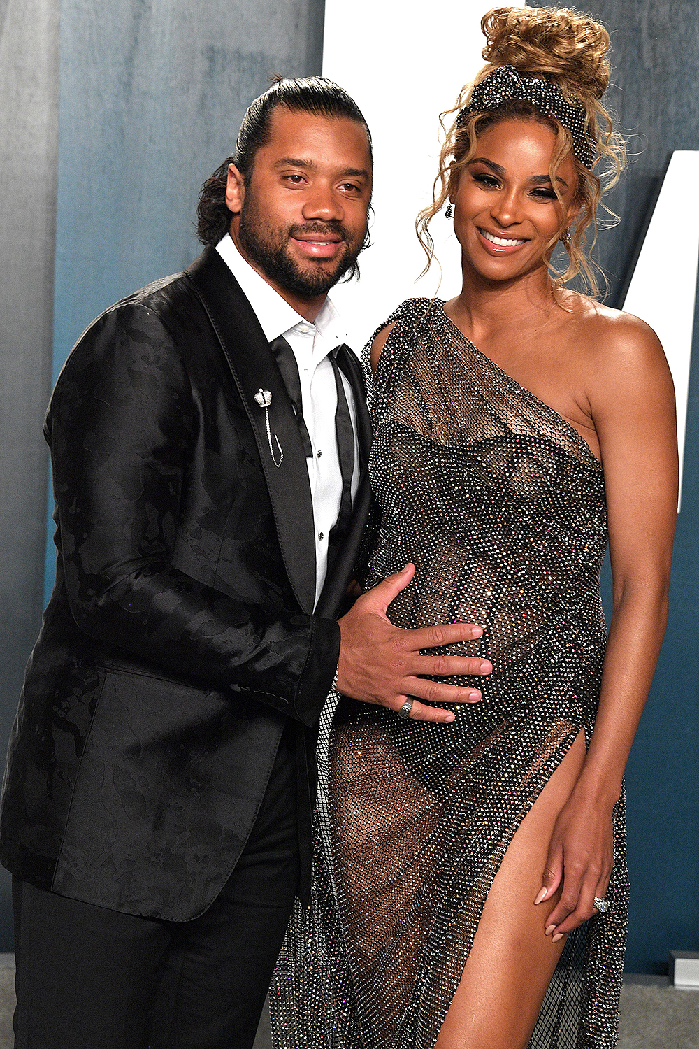 Russell Wilson and Ciara Wilson