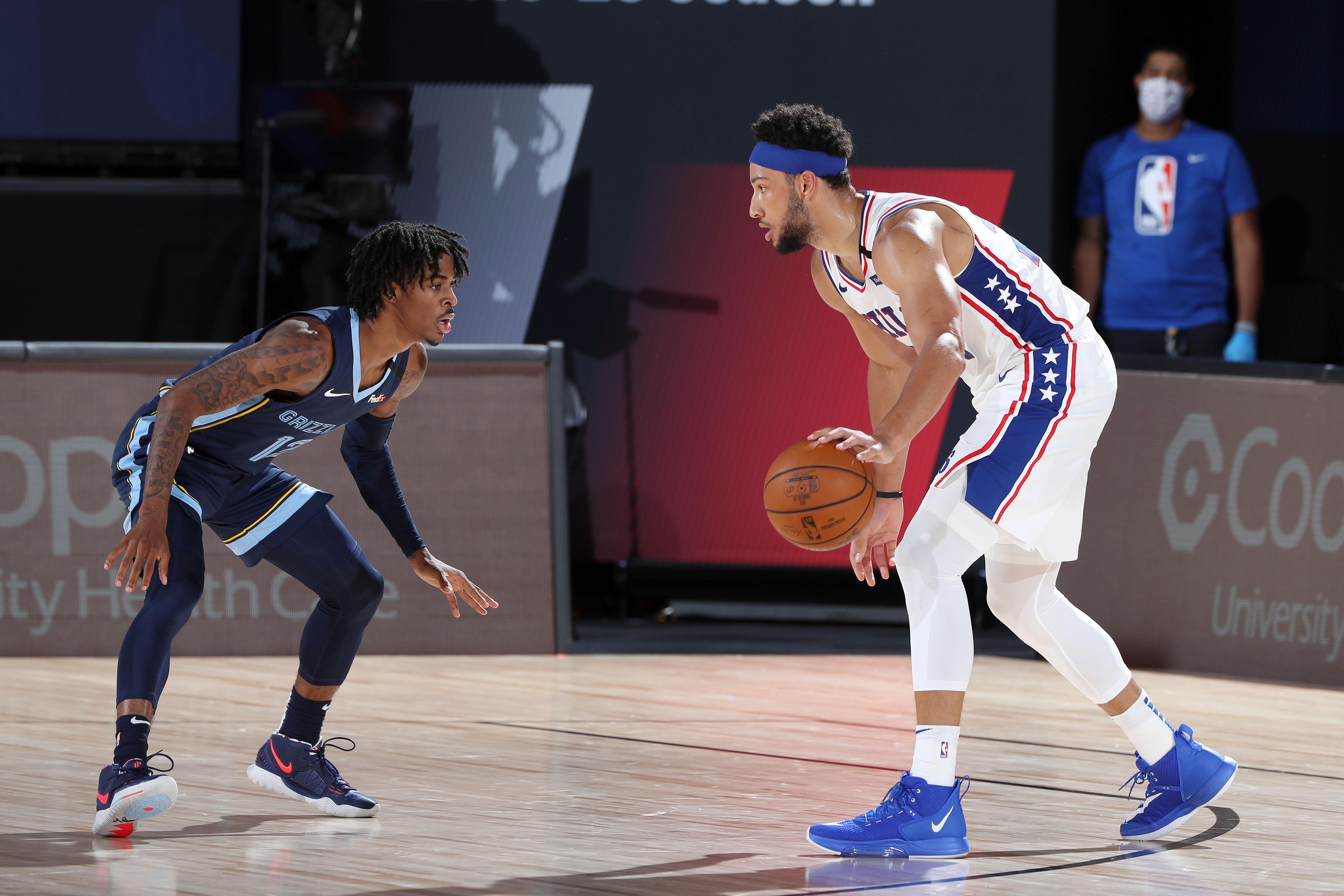 Memphis Grizzlies v Philadelphia 76ers