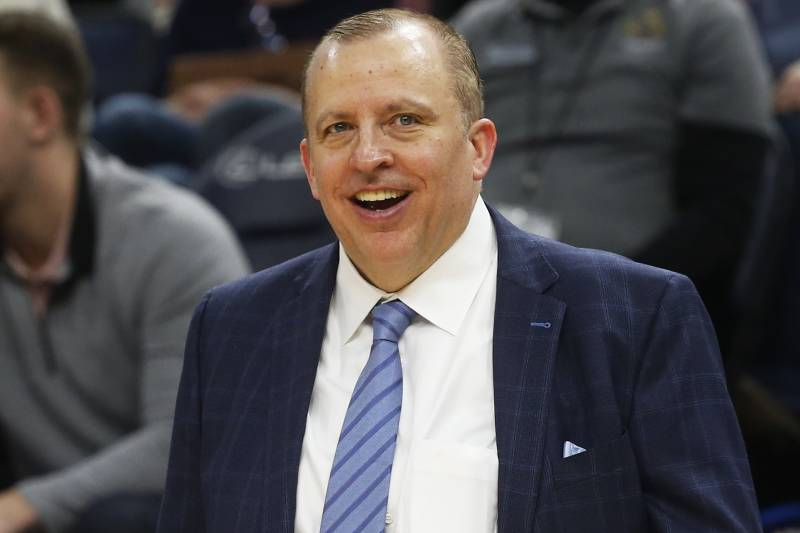 Former Bulls coach Tom Thobodeau is heading to the Knicks.