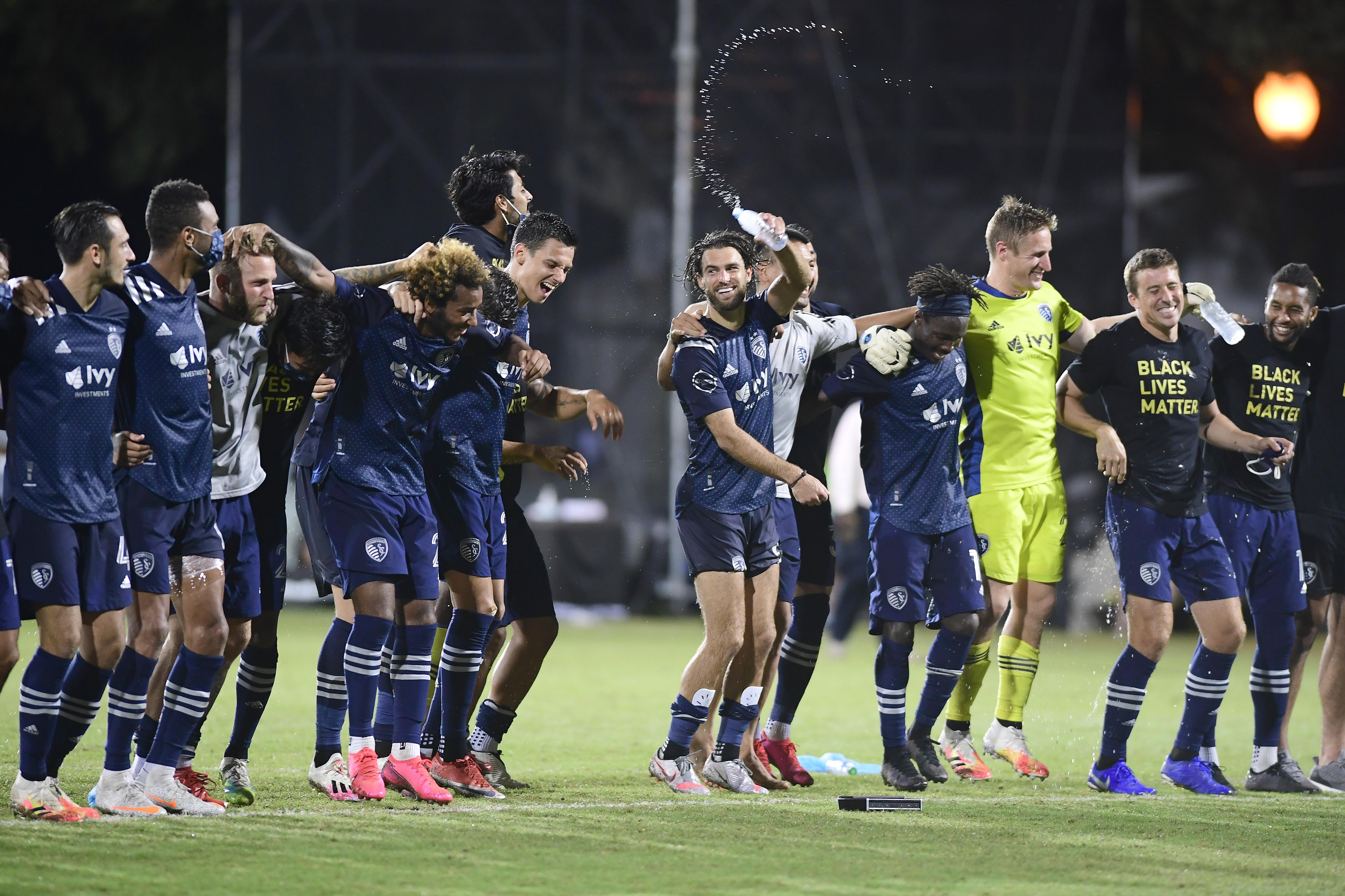 Sporting Kansas City v Vancouver Whitecaps: Knockout Round - MLS Is Back Tournament