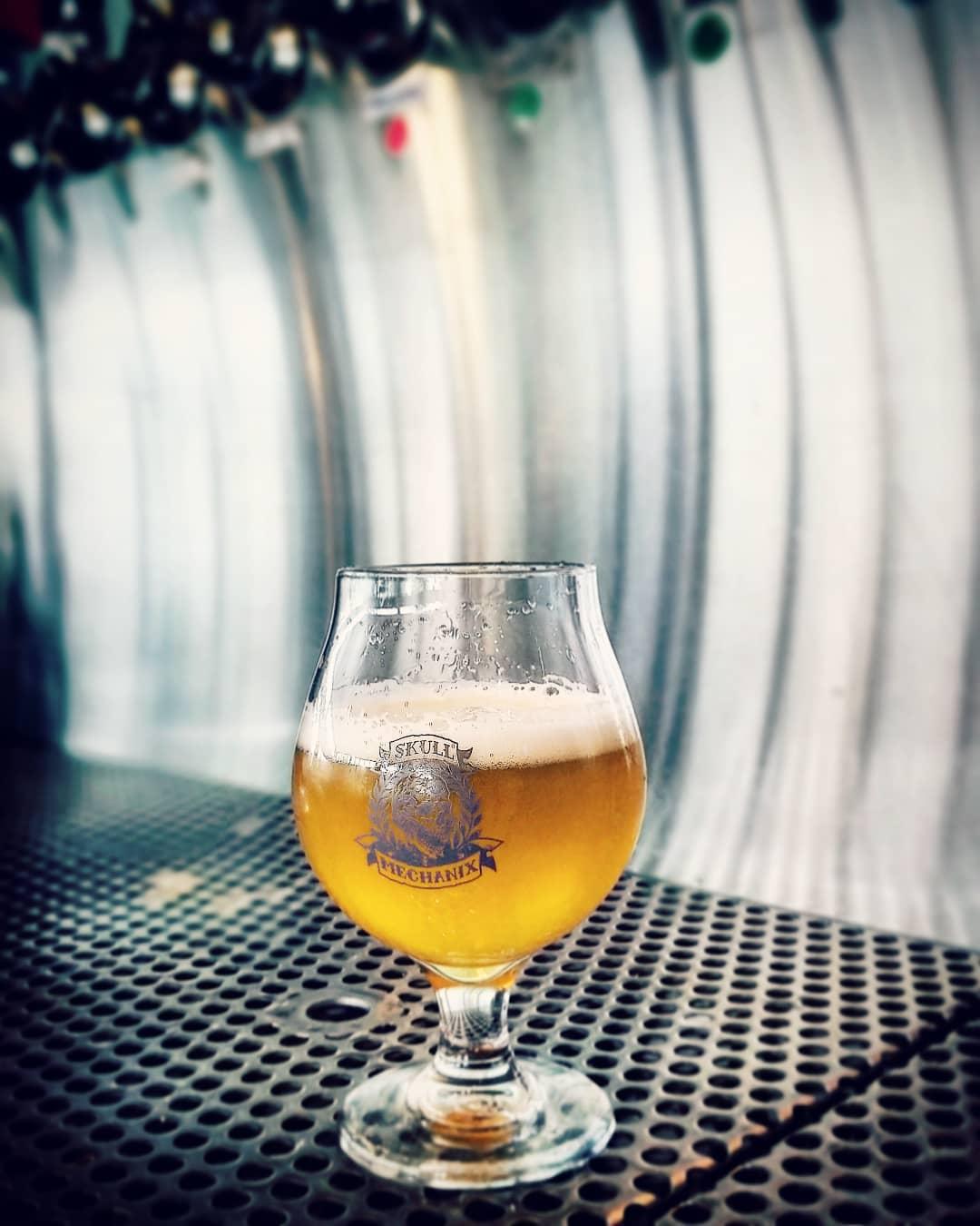 A beer from Skull Mechanix Brewing