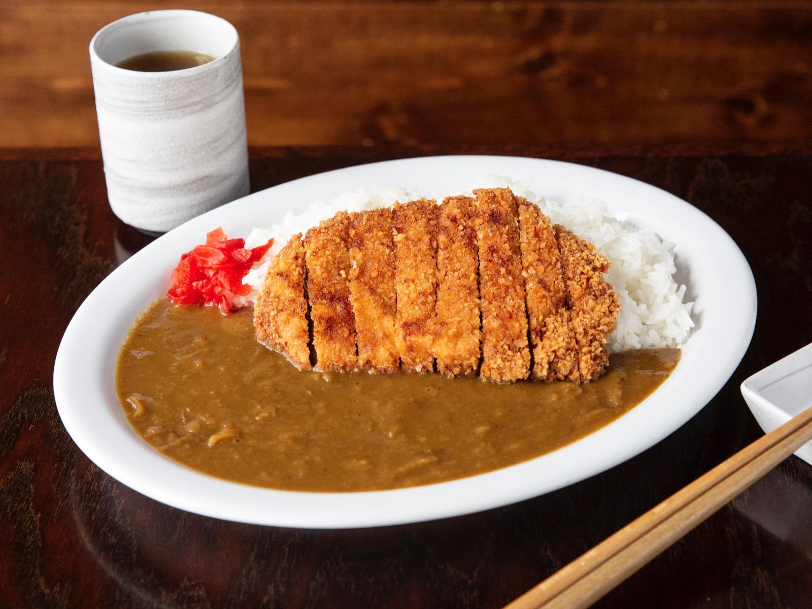 Katsu curry at Izakaya Roku