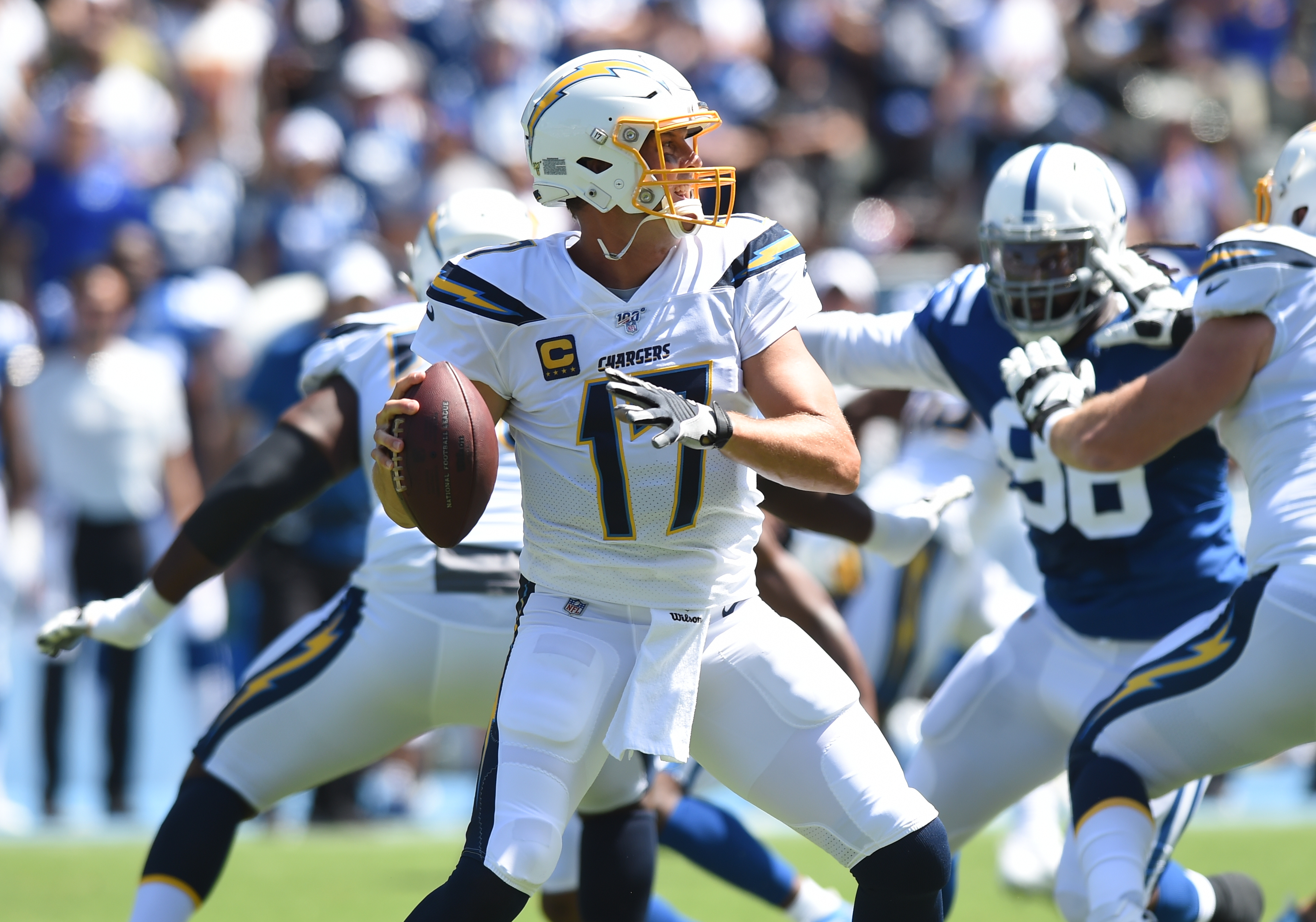 NFL: SEP 08 Colts at Chargers